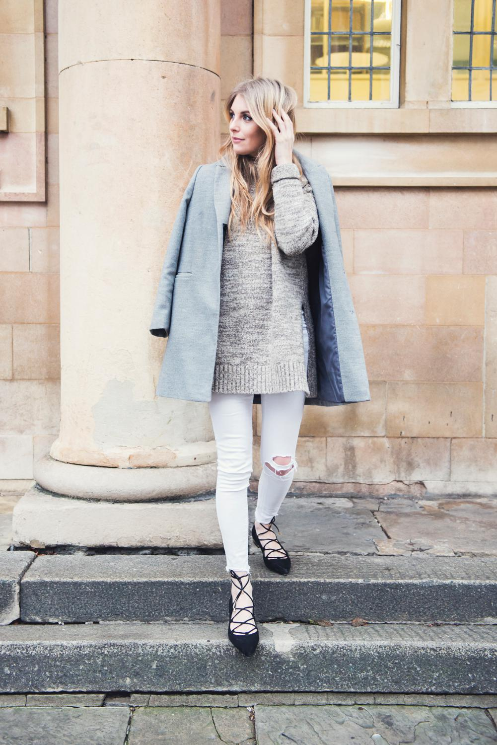 How to Wear White Jeans in Winter • Love Style Mindfulness ...