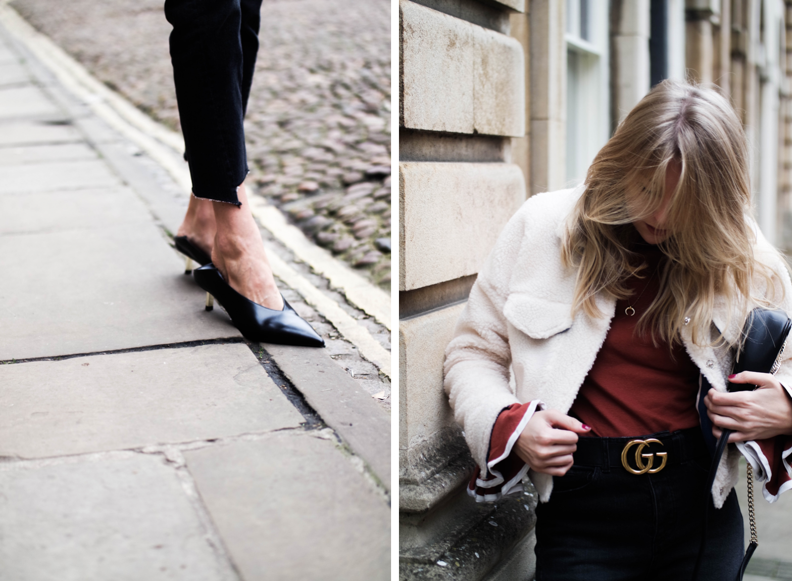 The Return of The Kitten Heel - Fashion Blogger Style
