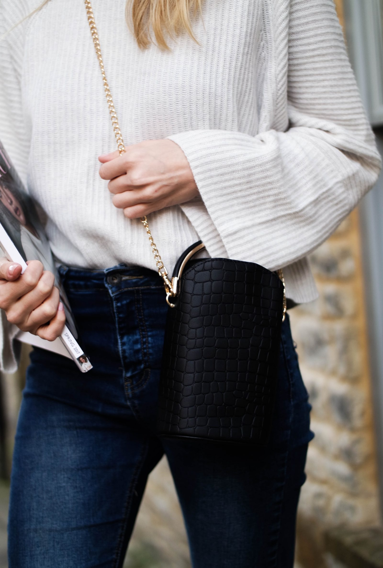 5 Reasons To Invest In Cashmere - Croc Bag