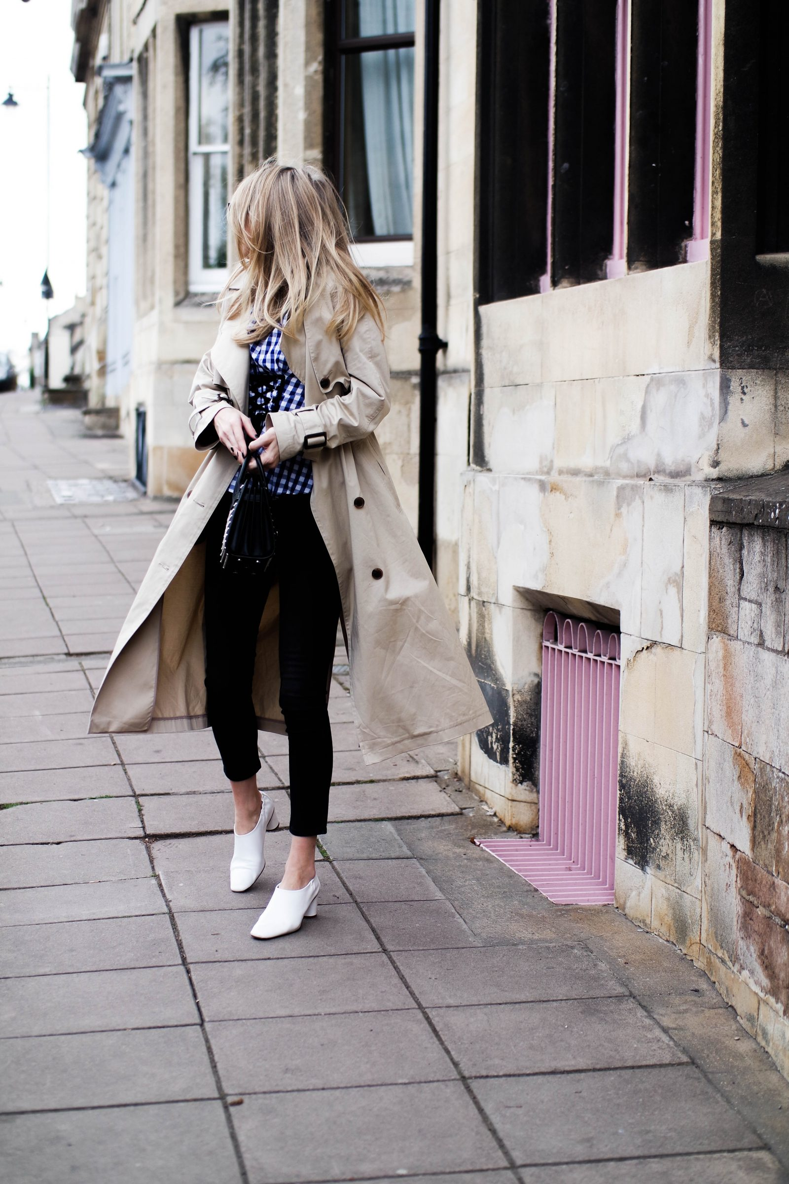5 Ways To Wear The Corset Trend - Classic Trench Coat