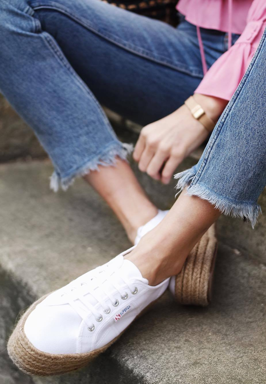 Coachella Vibes - Superga Espadrille Shoes