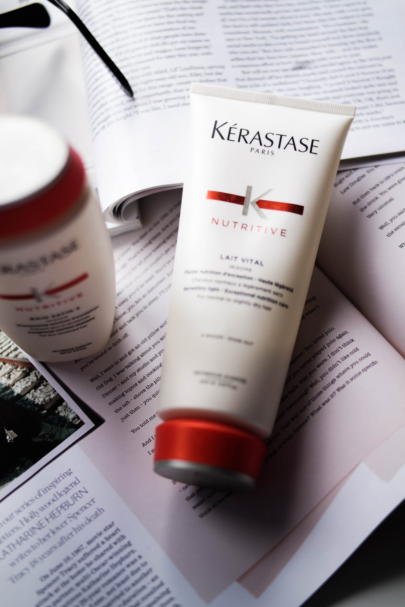 Hair Tutorial - Keraste Nutritive Conditioner