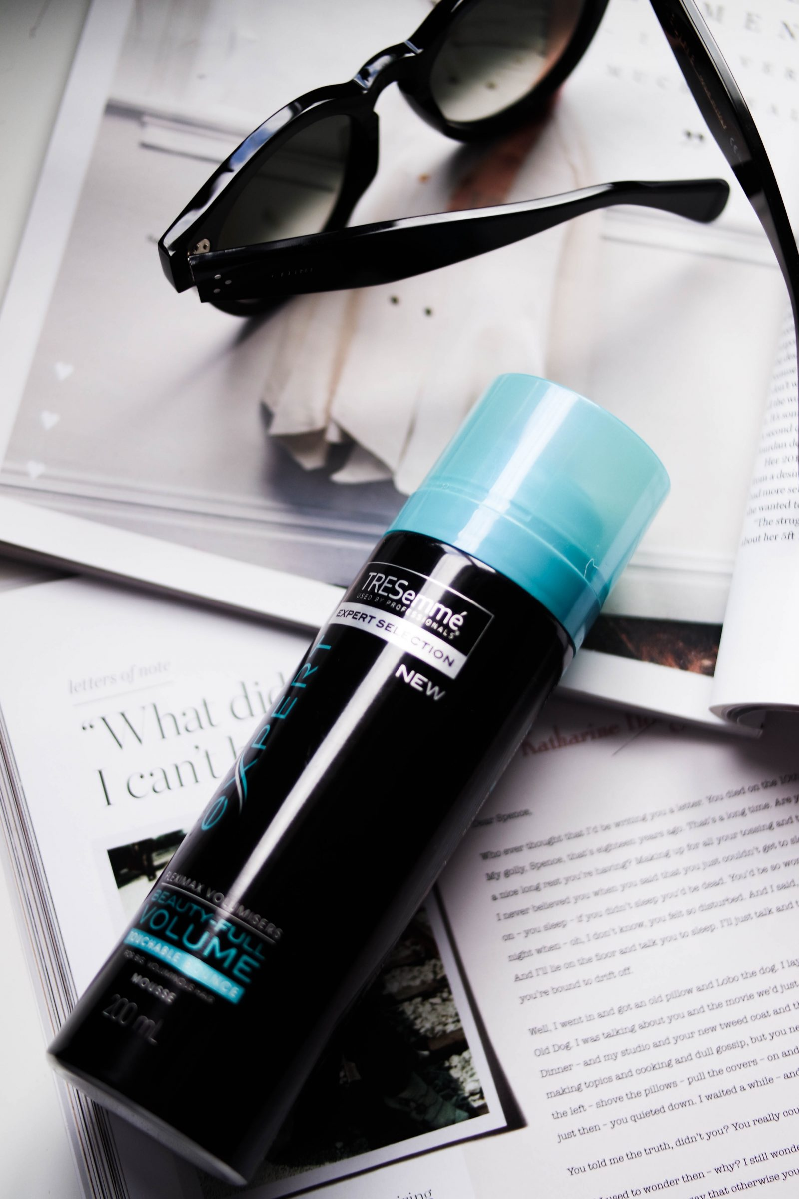 Hair Tutorial - Tresemme Mousse