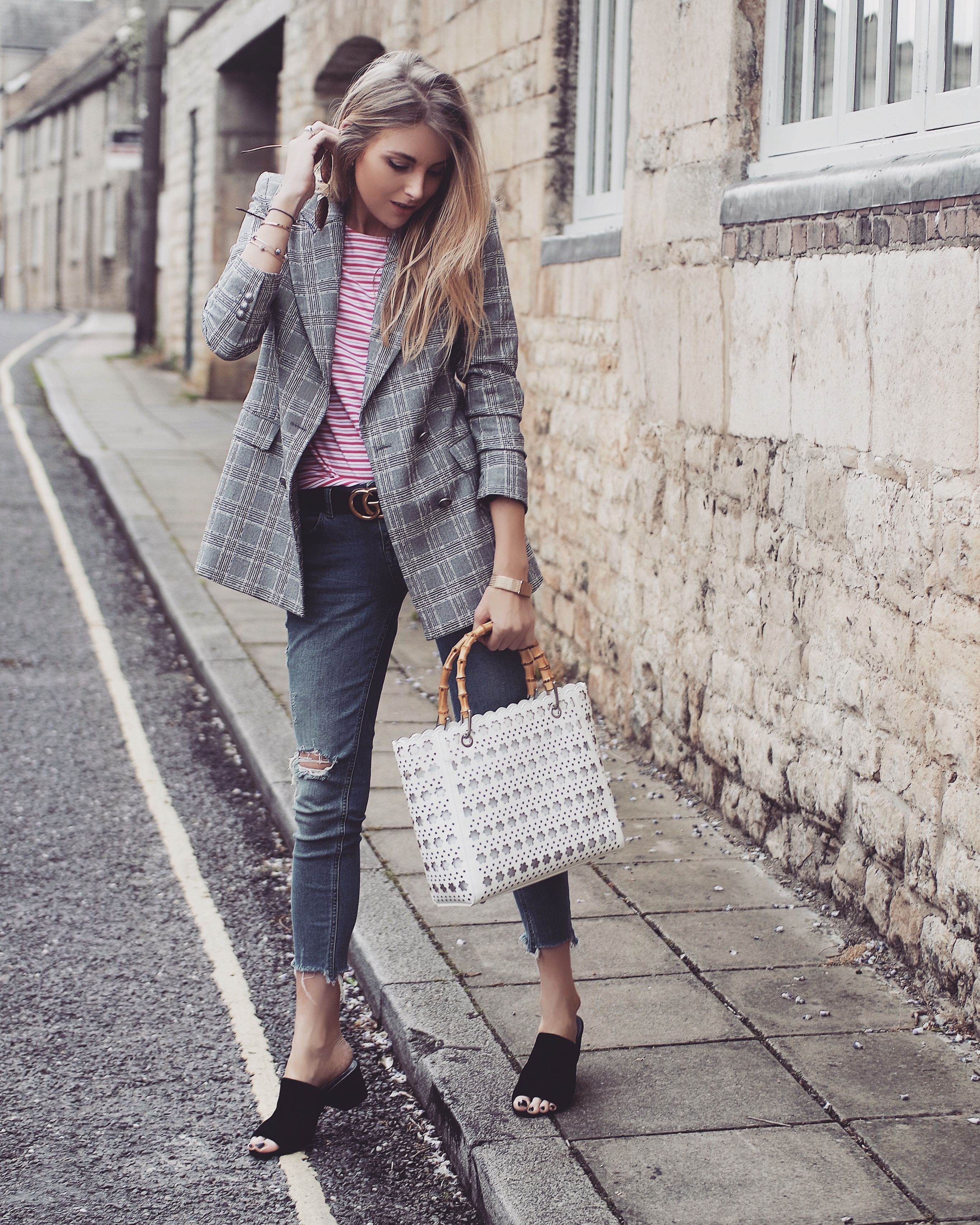 Classic Breton Tee Outfit Inspiration Love Style