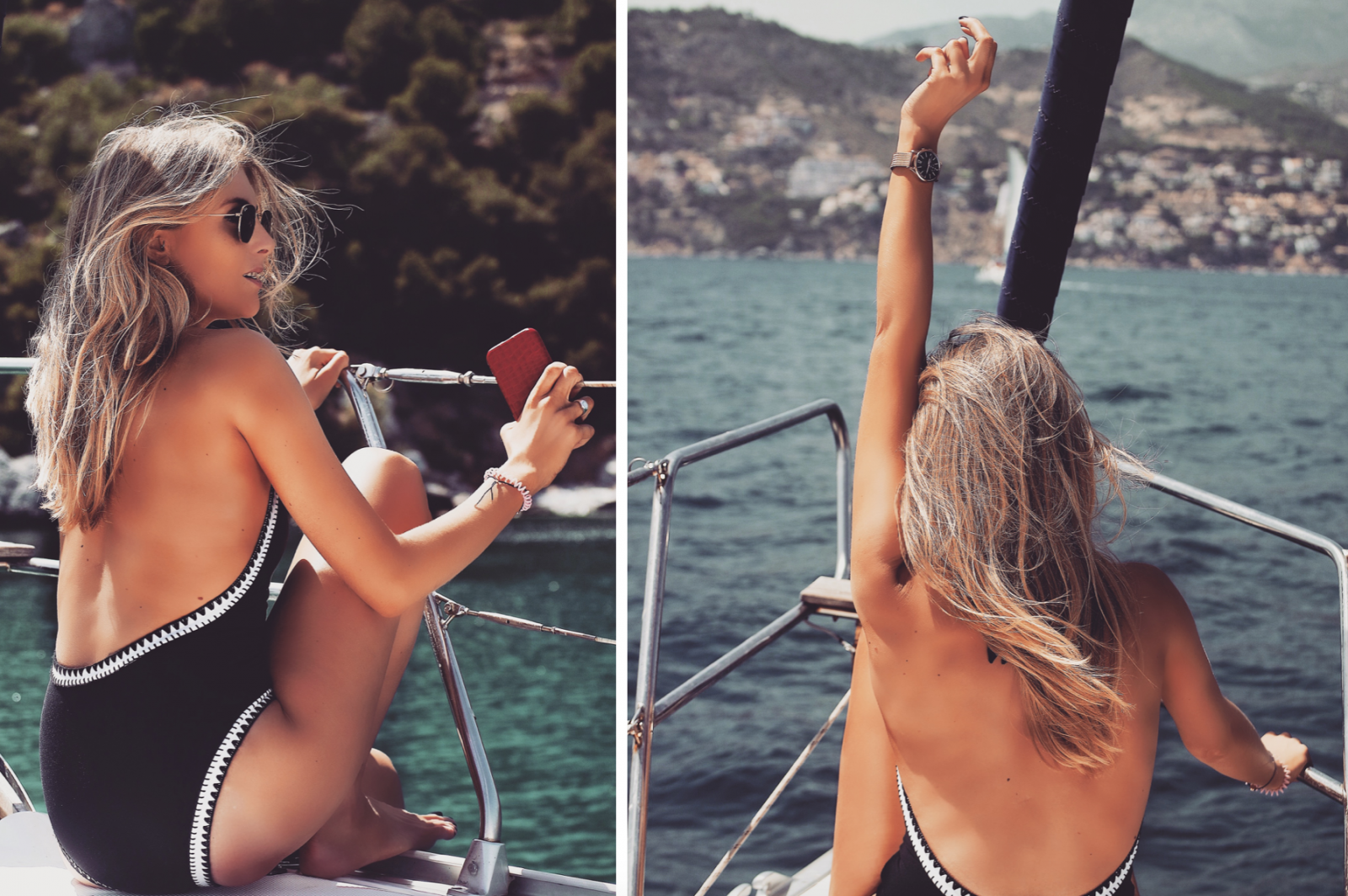 Otterbox Out Of Office Seafolly catamaran Shoot