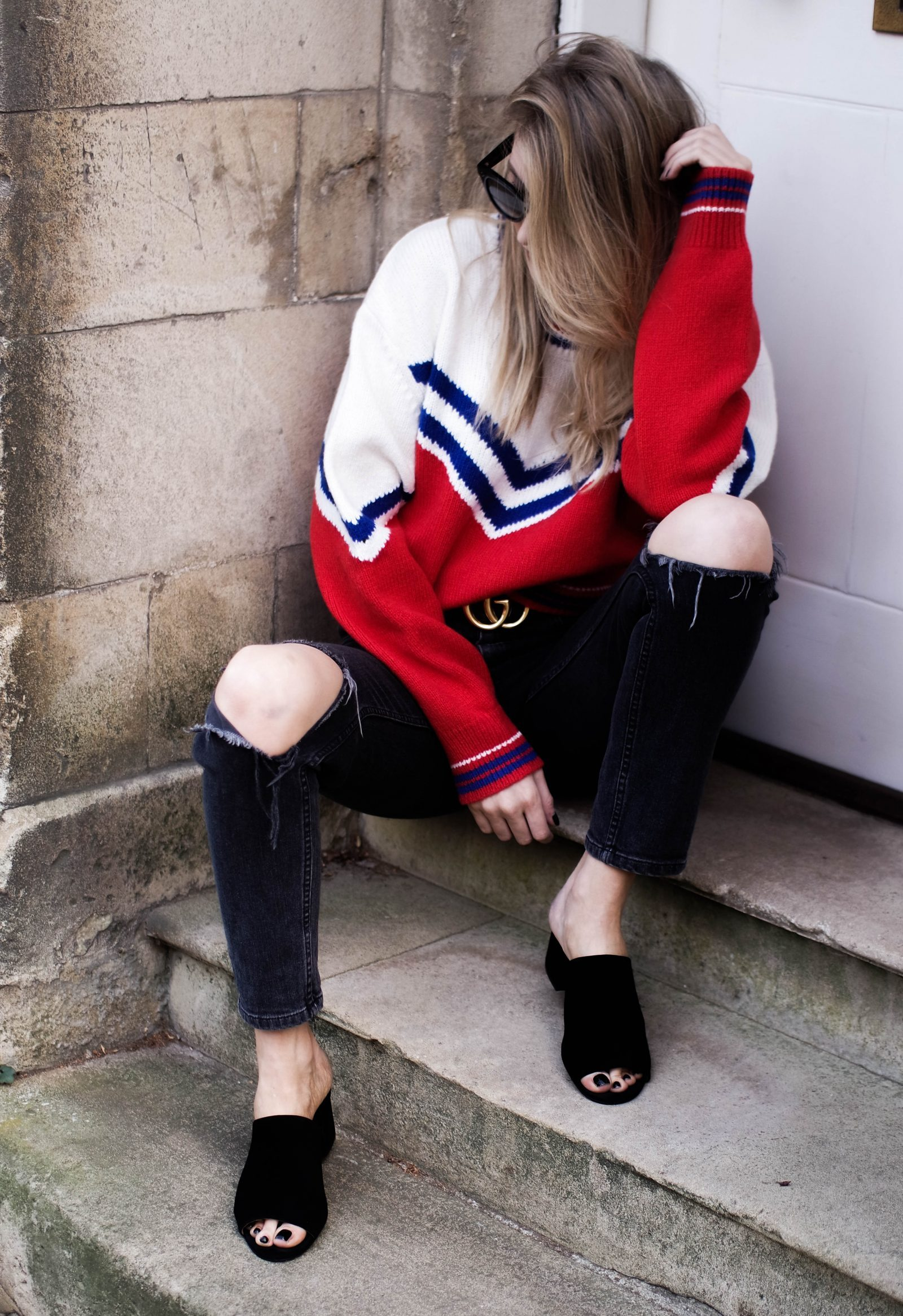 Styling Tips - Gucci Dupe Chunky Knit
