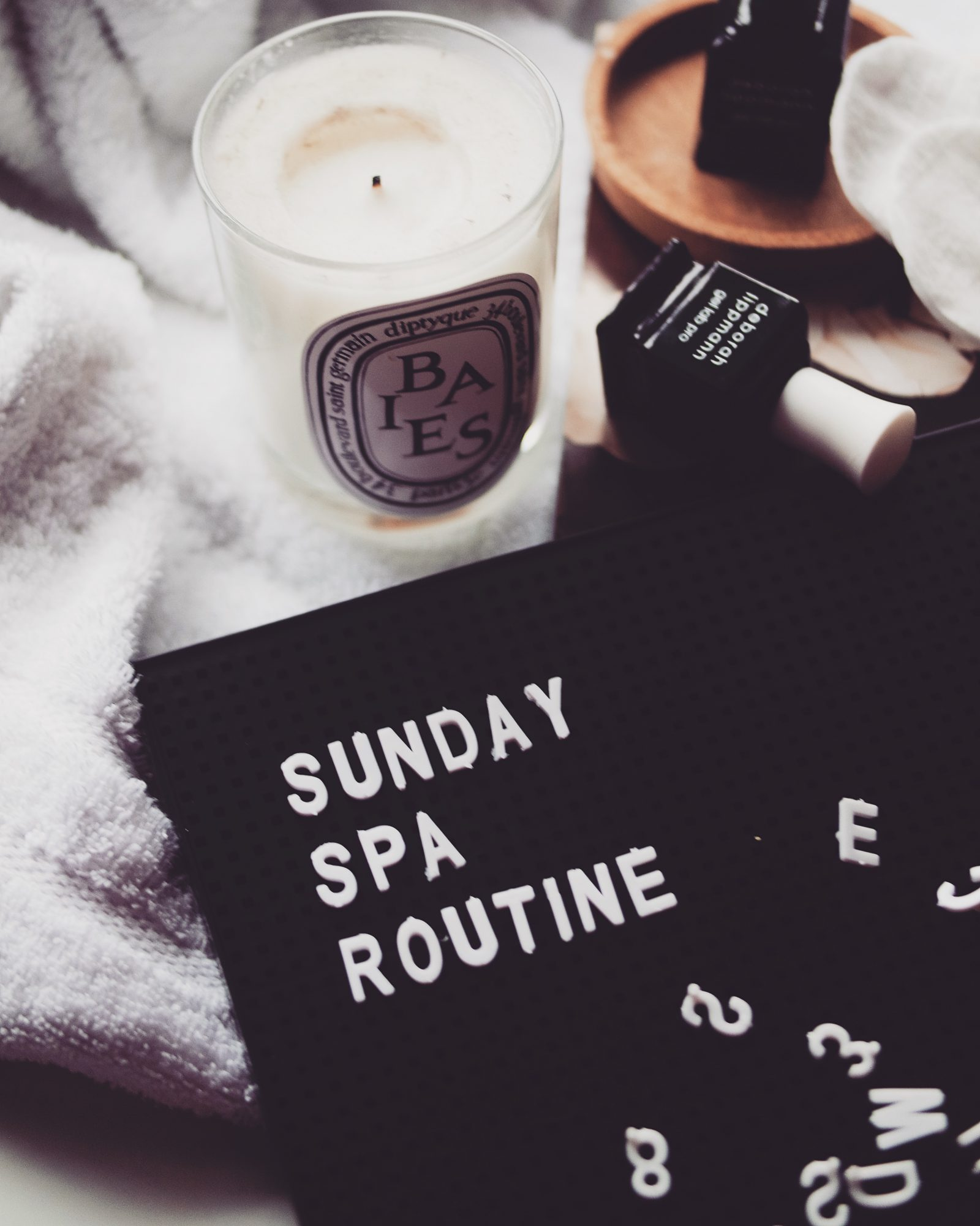Sunday Spa Routine
