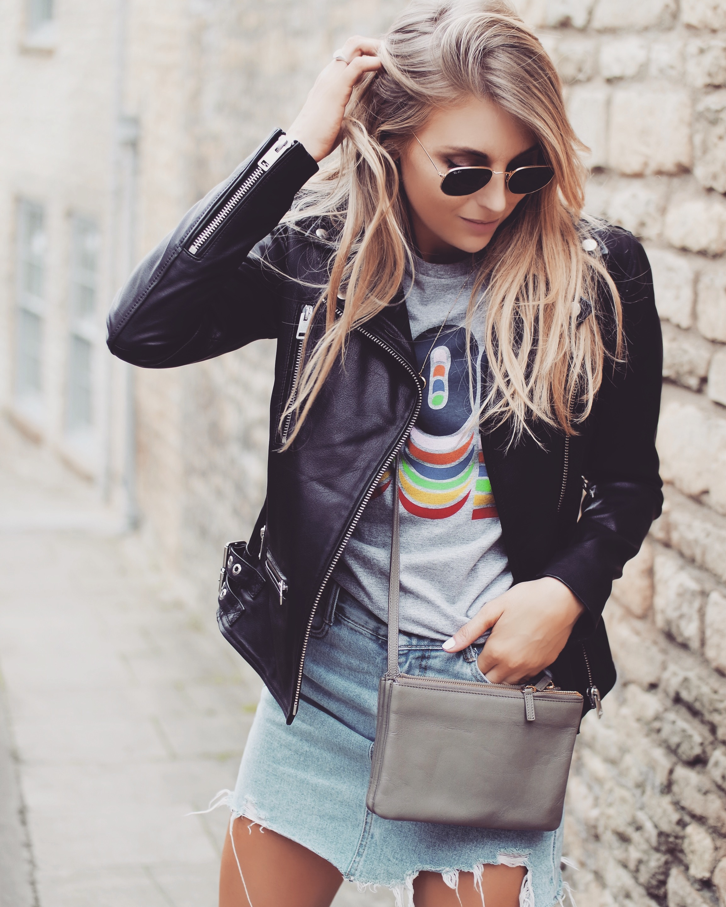 Investing In Street Appeal With Style: Leather Jacket - Fashion Blogger Street Style