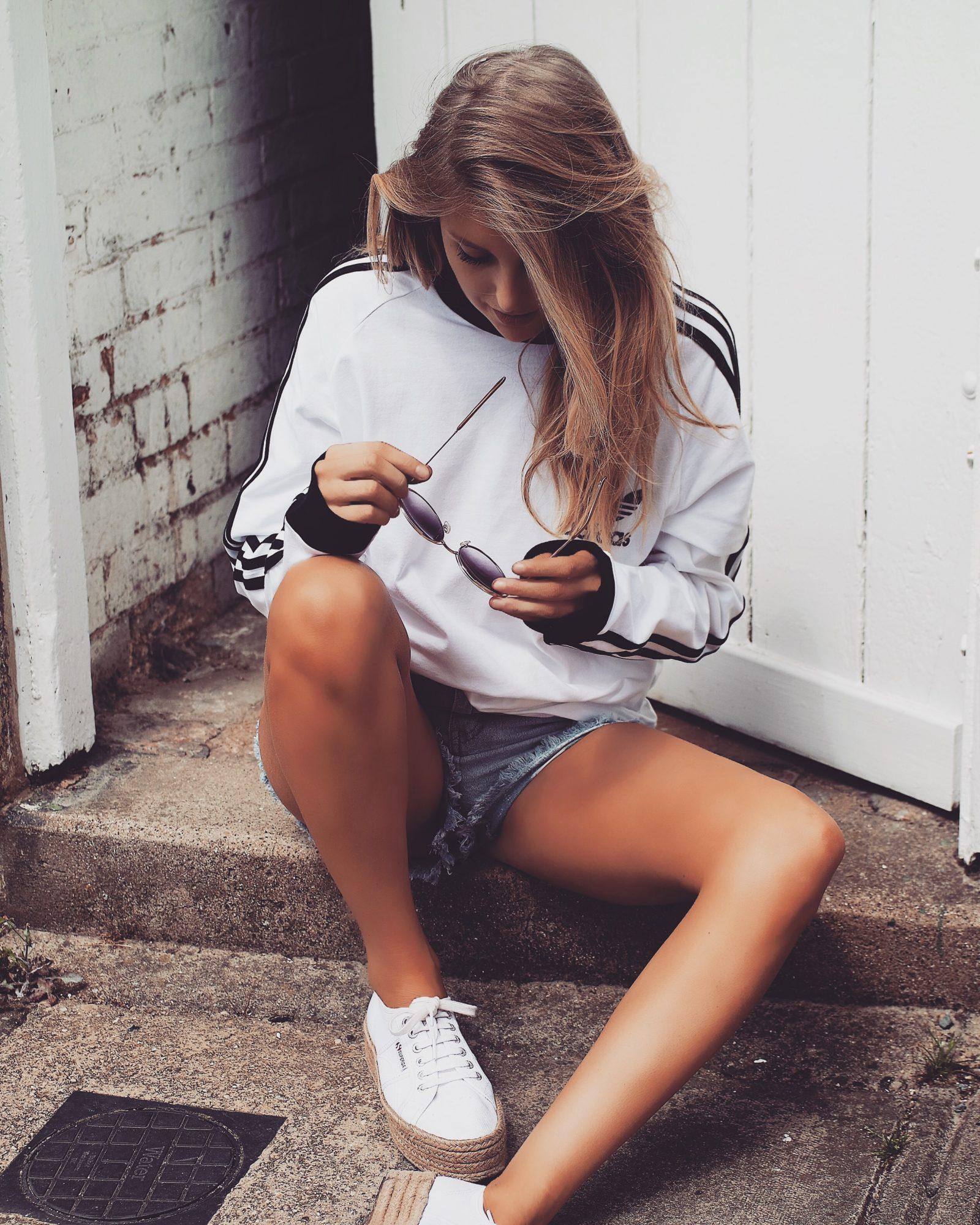 Summer BBQ Style - Adidas Long Sleeve T shirt