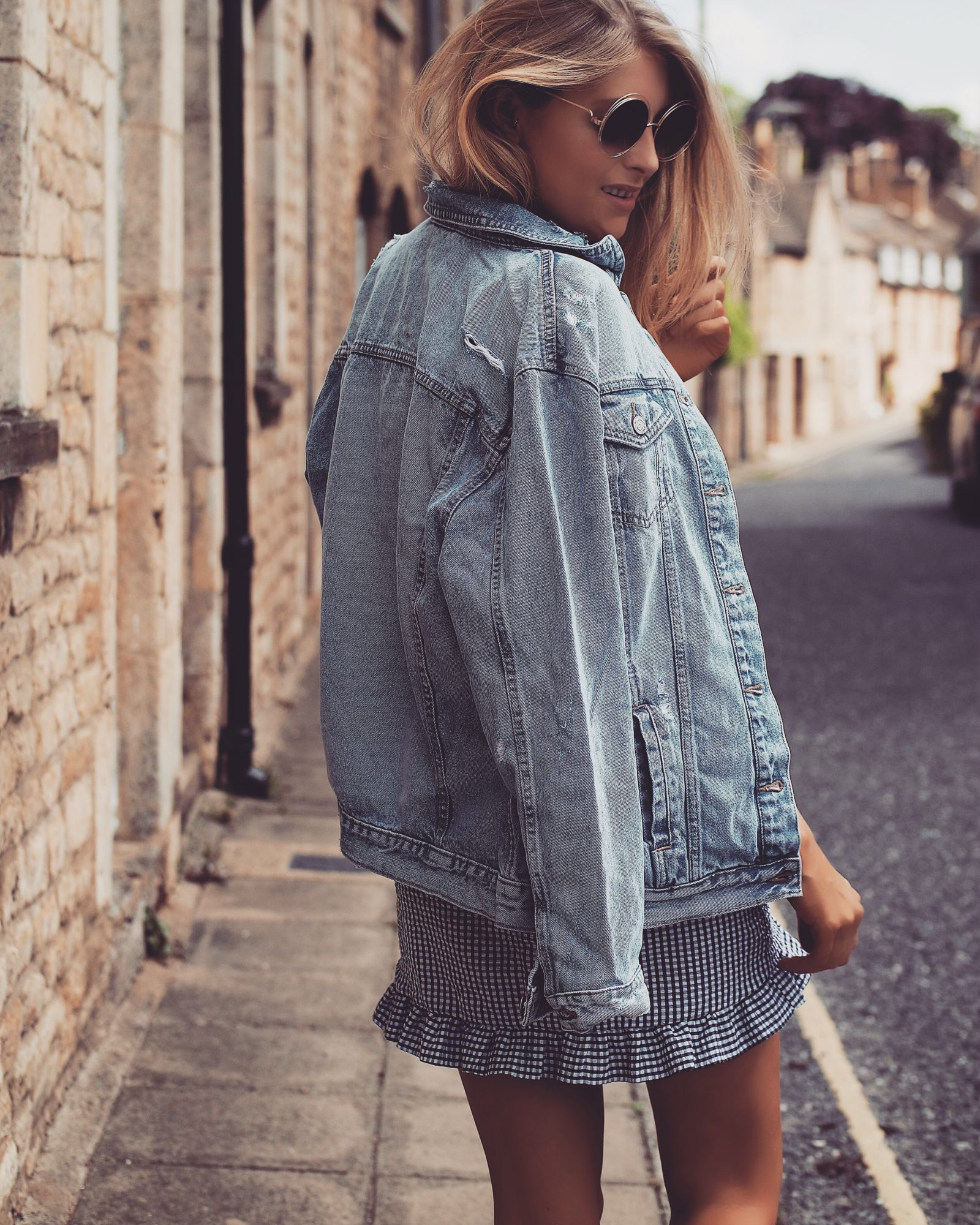 Summer BBQ Style - Oversized Denim Jacket