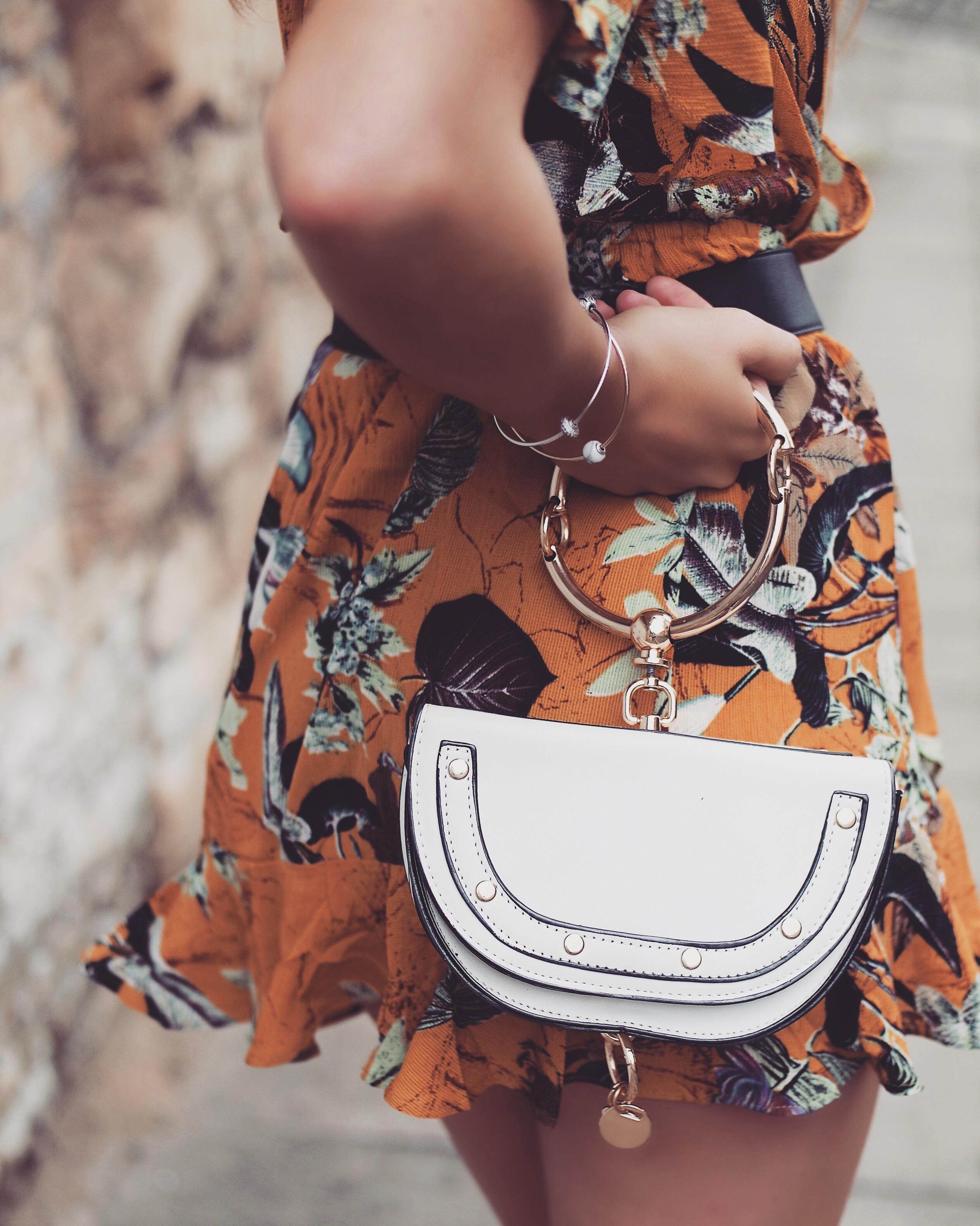 The Wrap Dress - Chloe Nile Bag Dupe