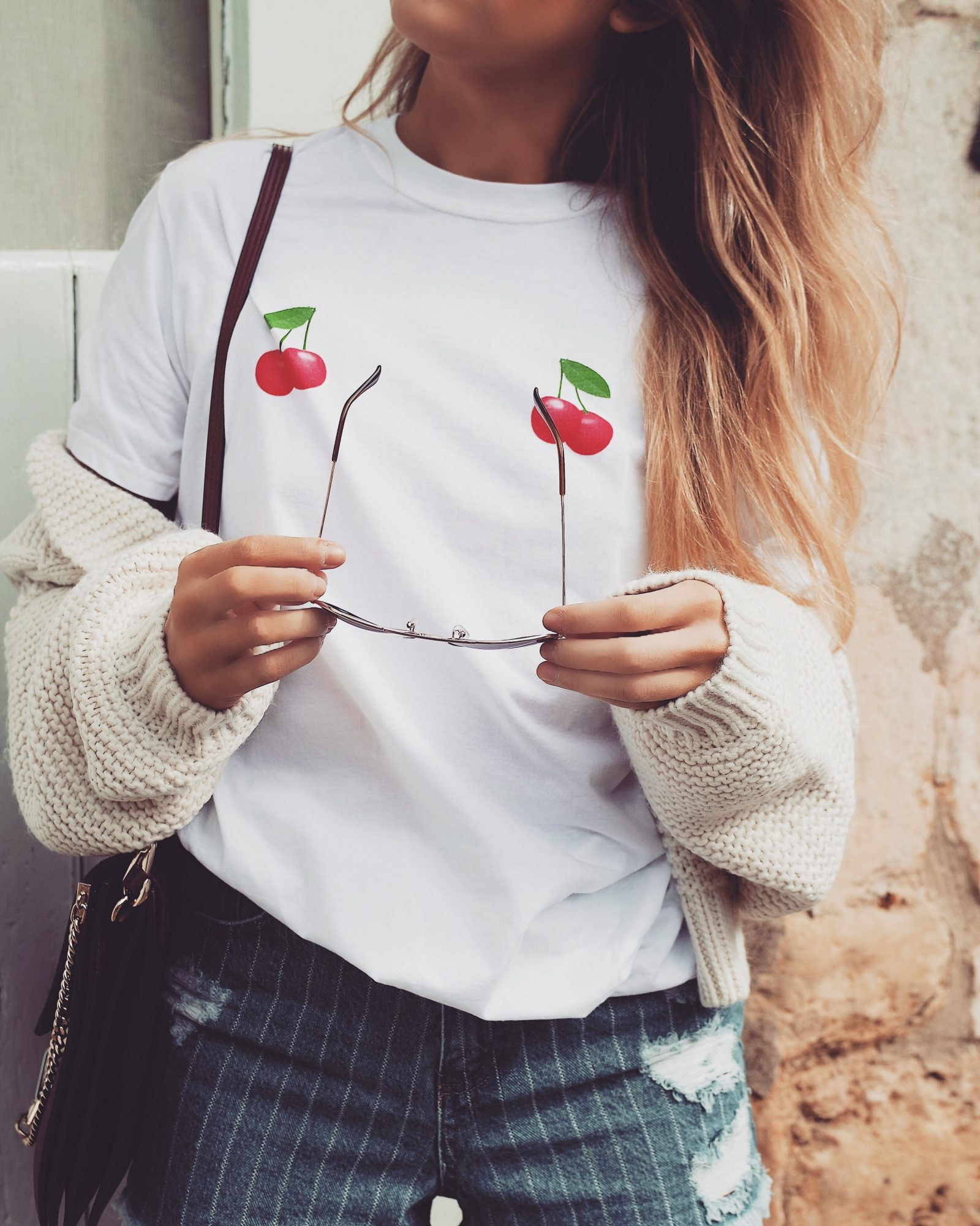 Affordable Fashion Cherry Tit Tee