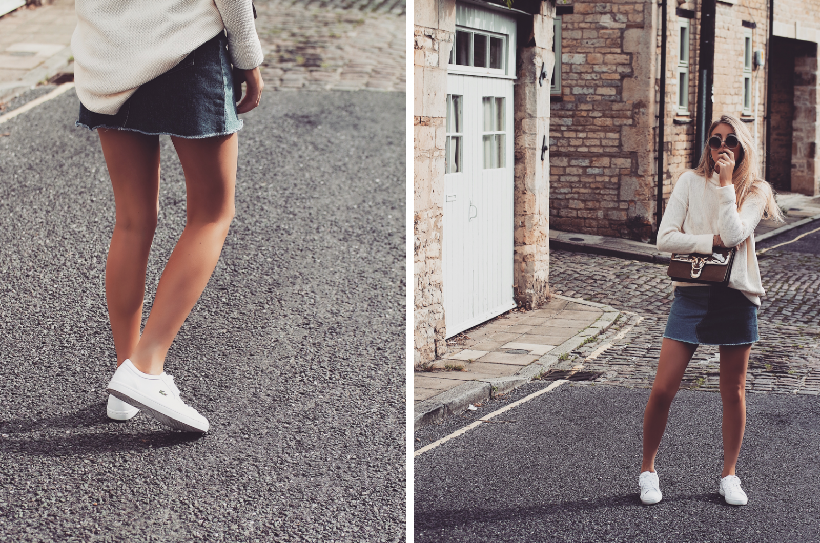 Lacoste Tennis Collection Street Style