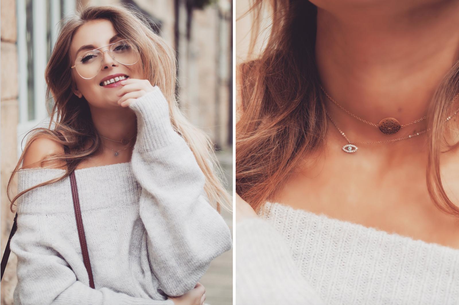 GRLFRND DENIM - Layered Choker Necklaces