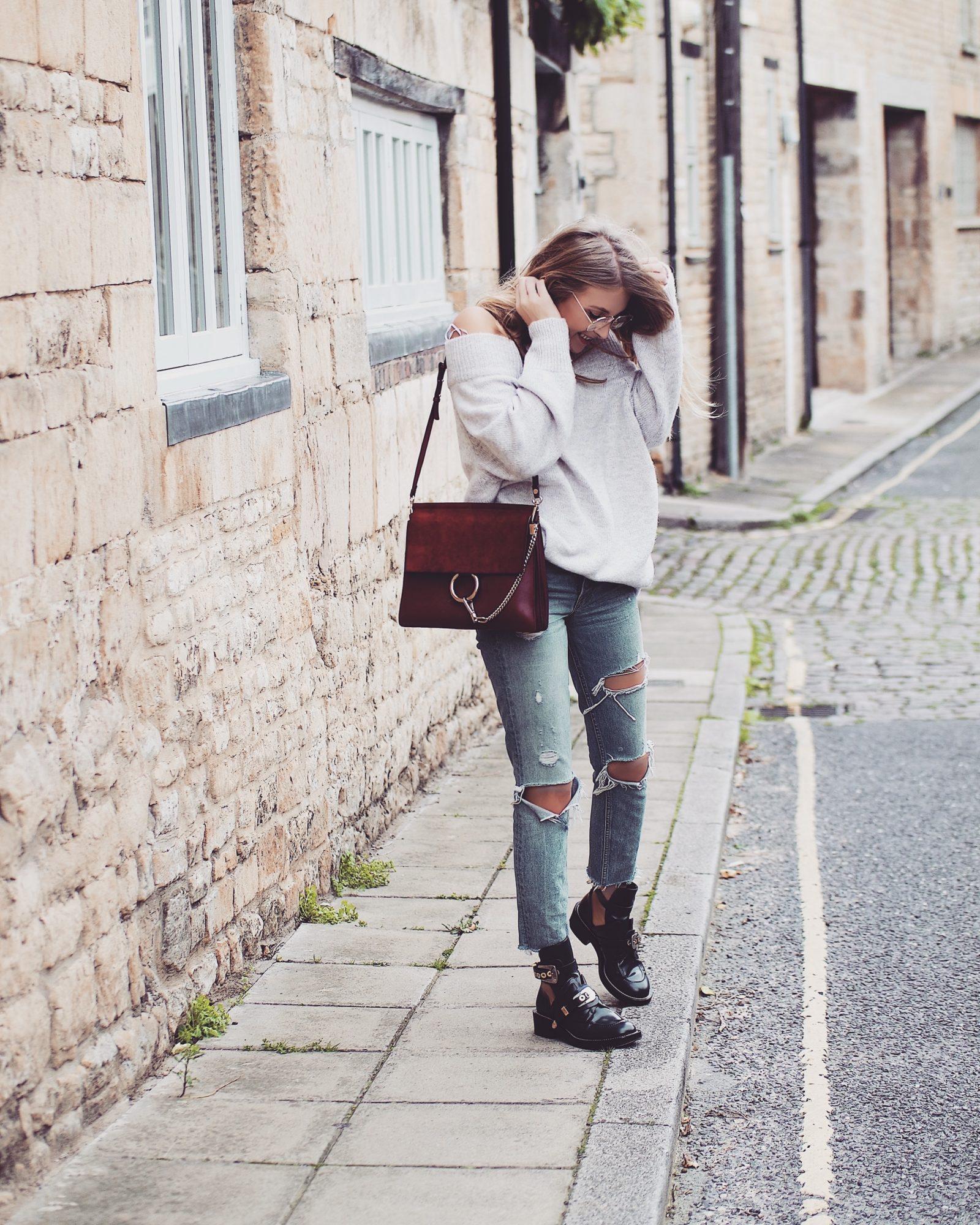 GRLFRND DENIM - Ripped Jeans
