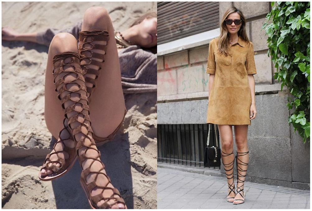 Gladiator Sandals 1