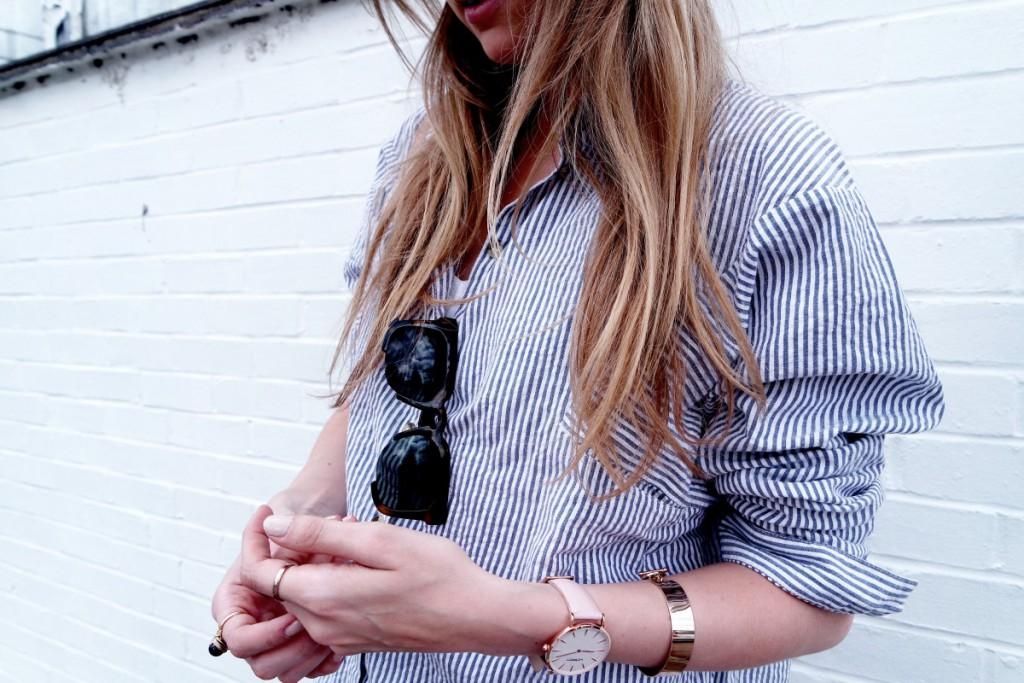 OOTD Striped Shirt