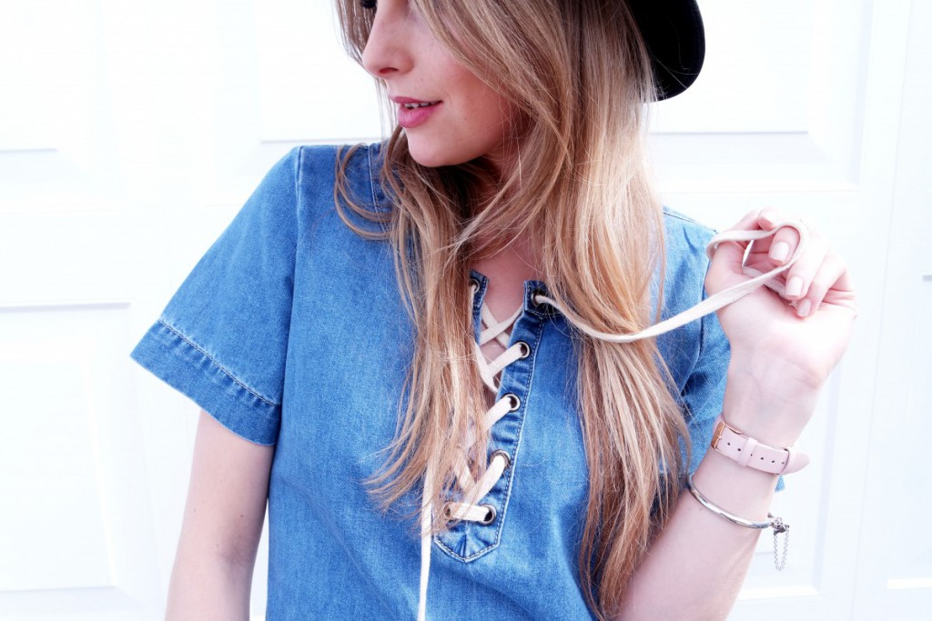 OOTD Denim Dress