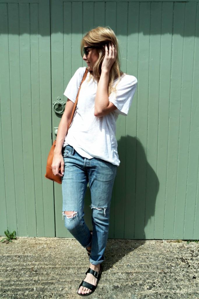 OOTD Boyfriend Jeans