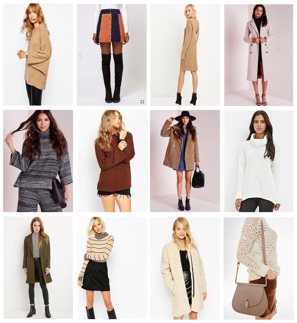 Autumn Winter Inspiration Top Picks