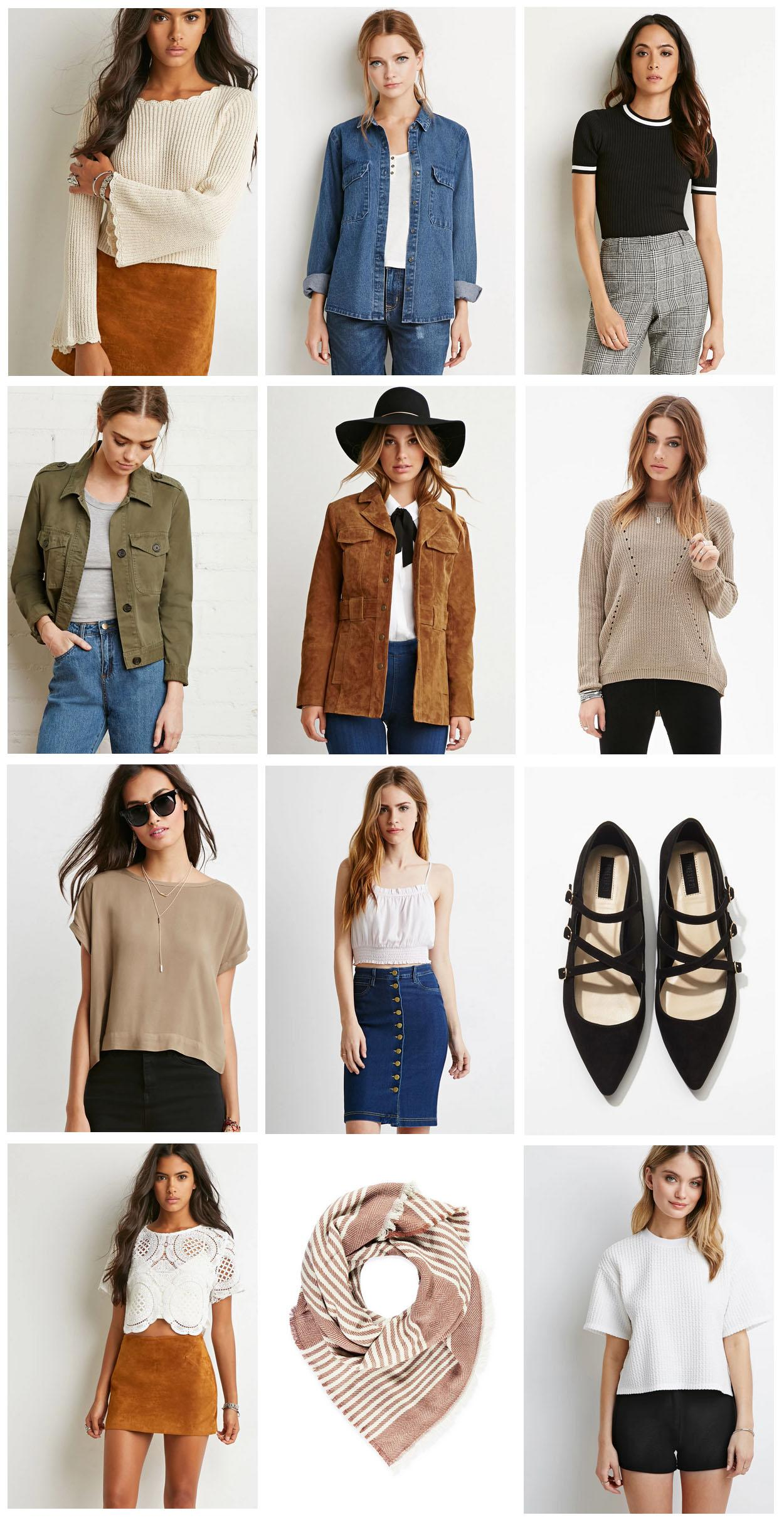 Forever 21 Favourites