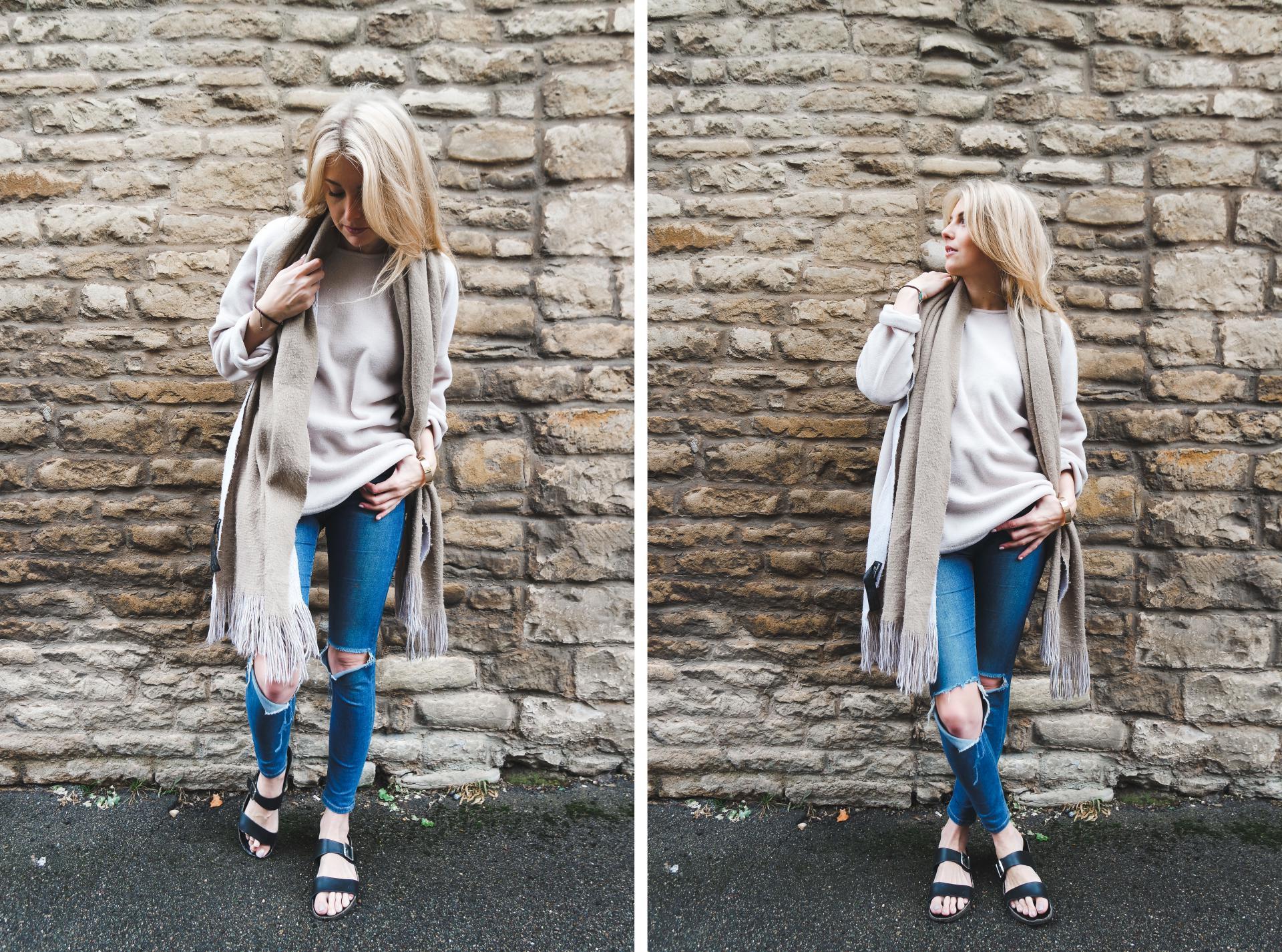 Three ways to wear an oversized jumper 2