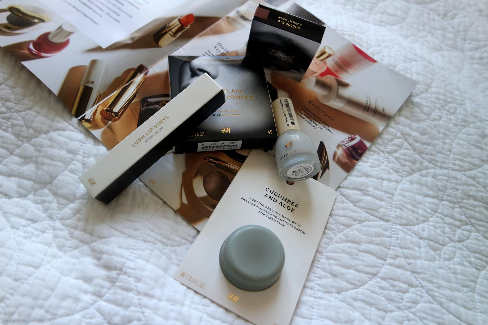 H&M Beauty Haul 1