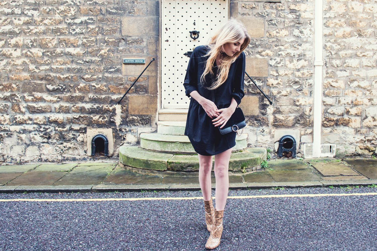 In The Style UK Styling a Black Dress