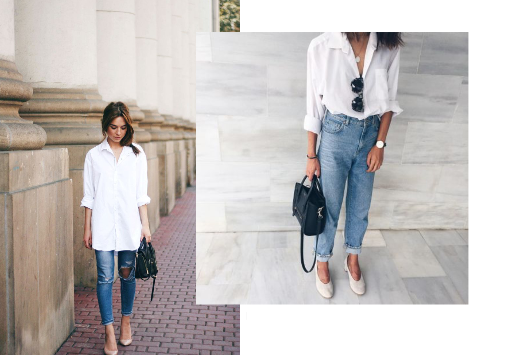 Inspo Blue Jeans White Shirt 007 | Love Style Mindfulness