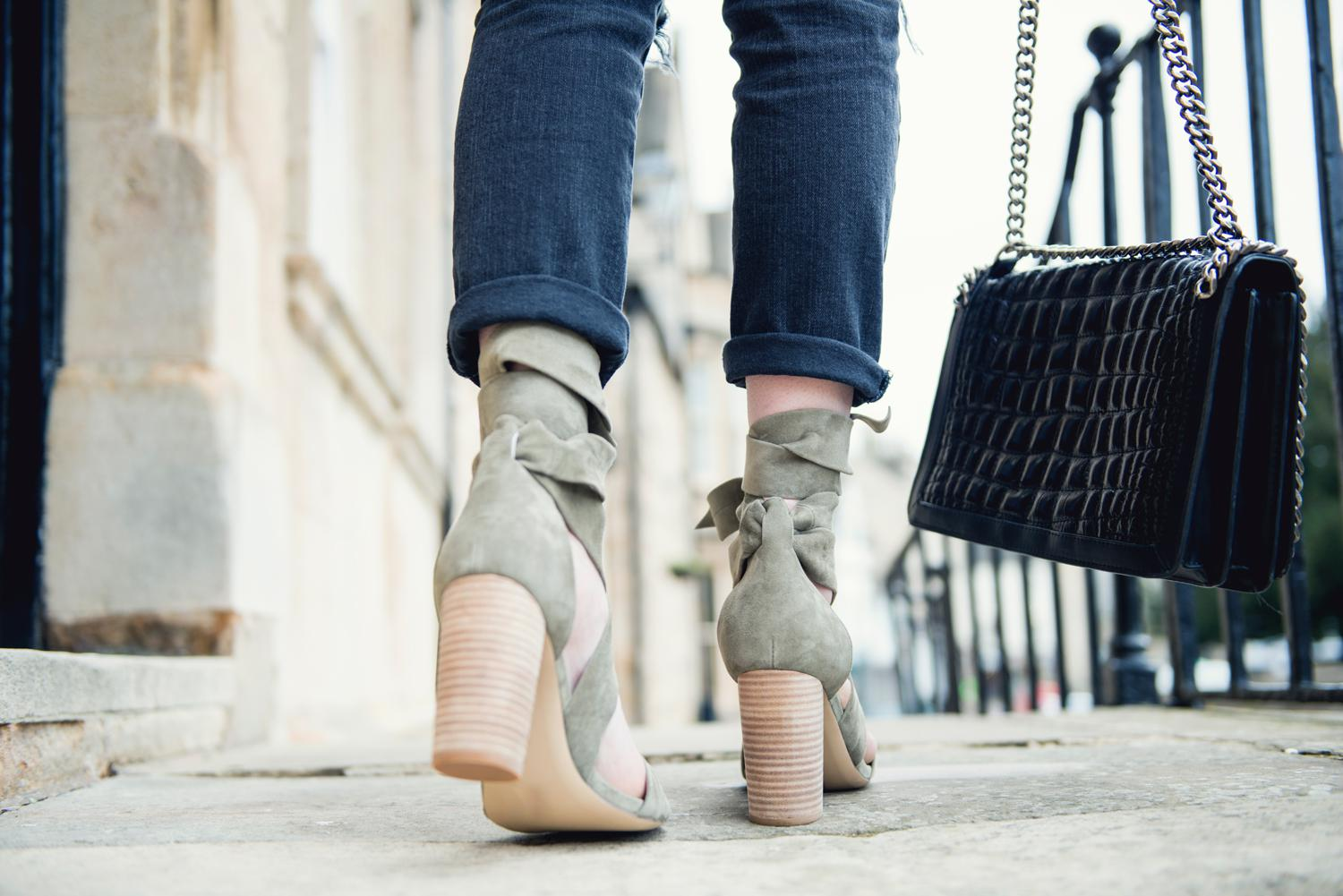 how one pair of shoes can transform your outfit