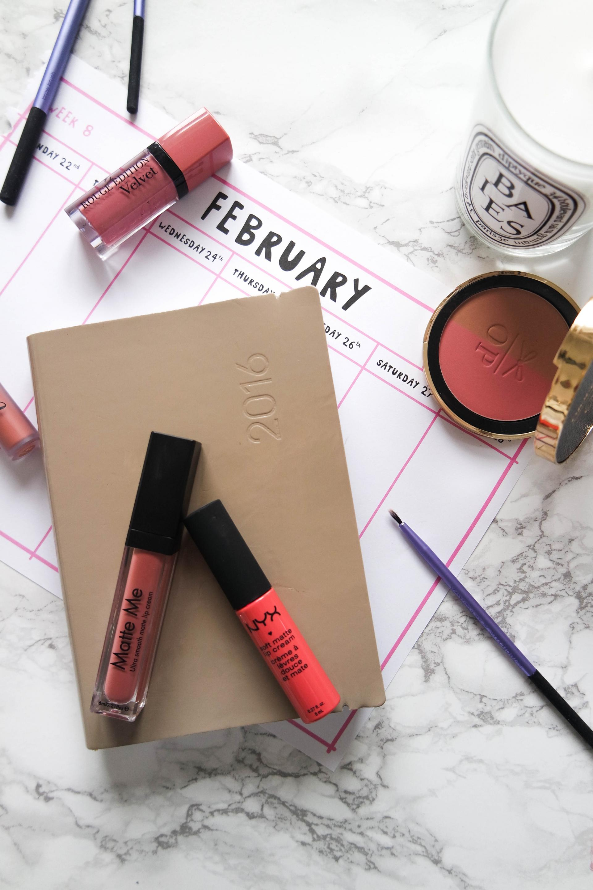 My guide to matte lips on a budget