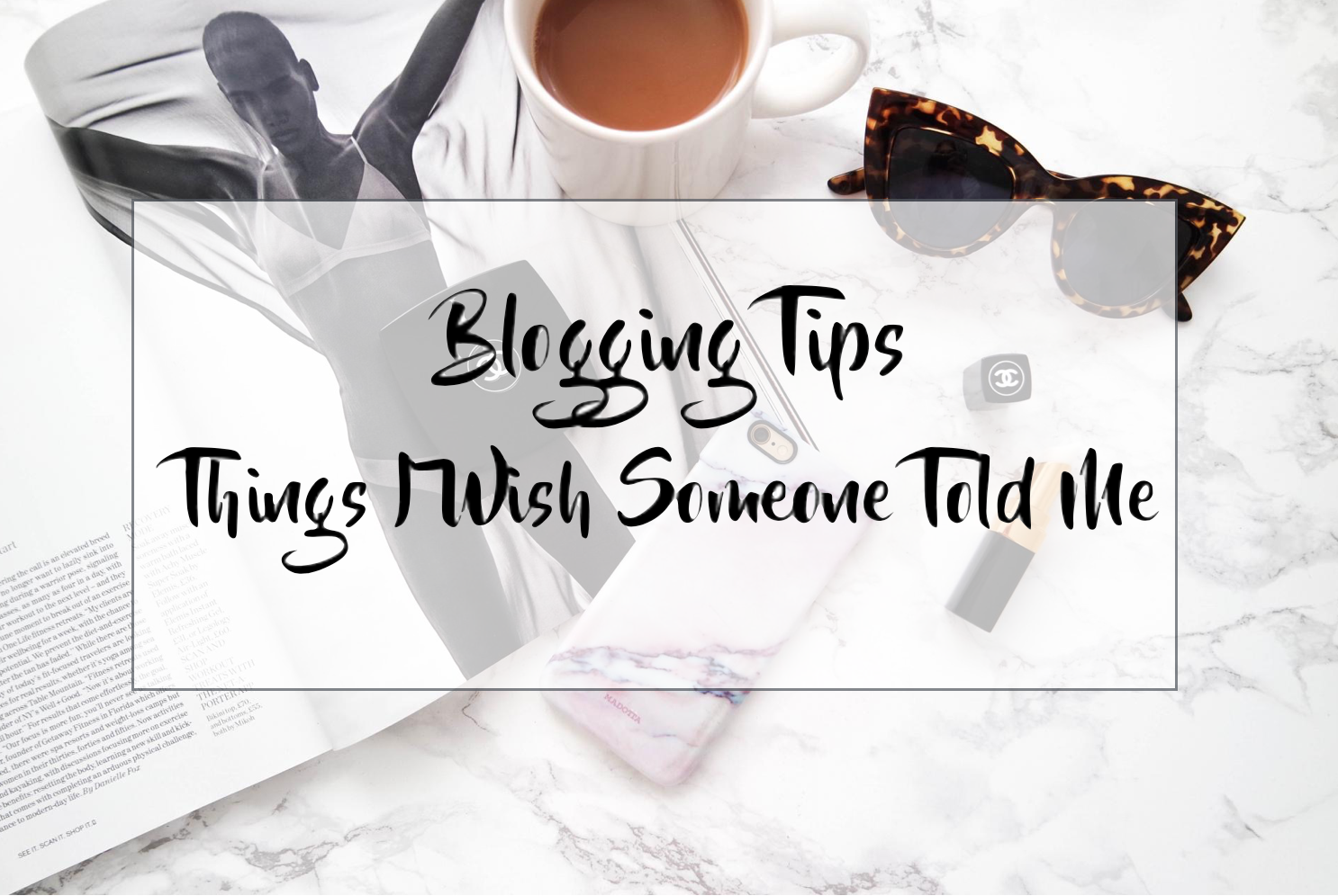 Blogging Tips // Things I Wish Someone Told Me