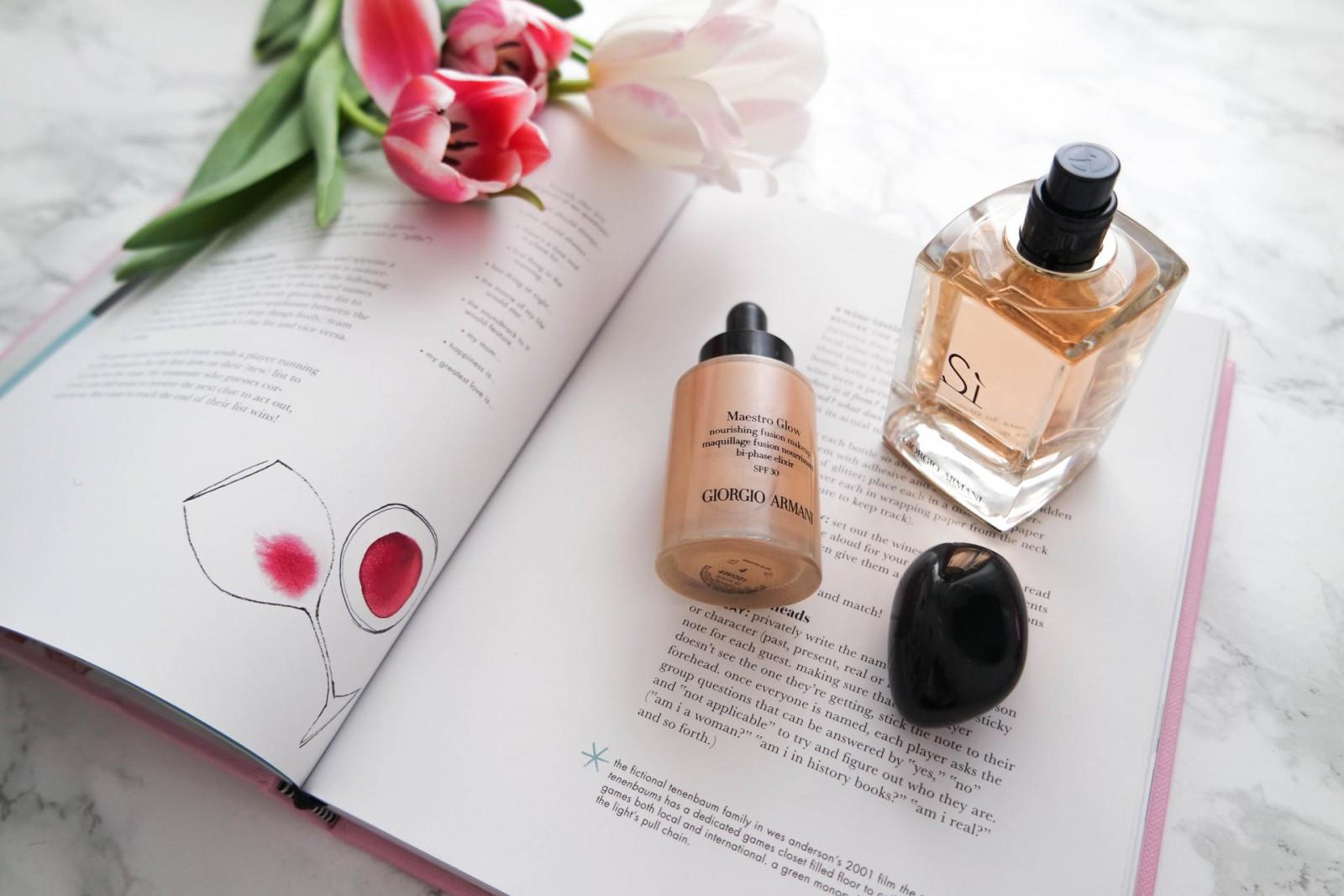 Giorgio Armani // Make Up Review
