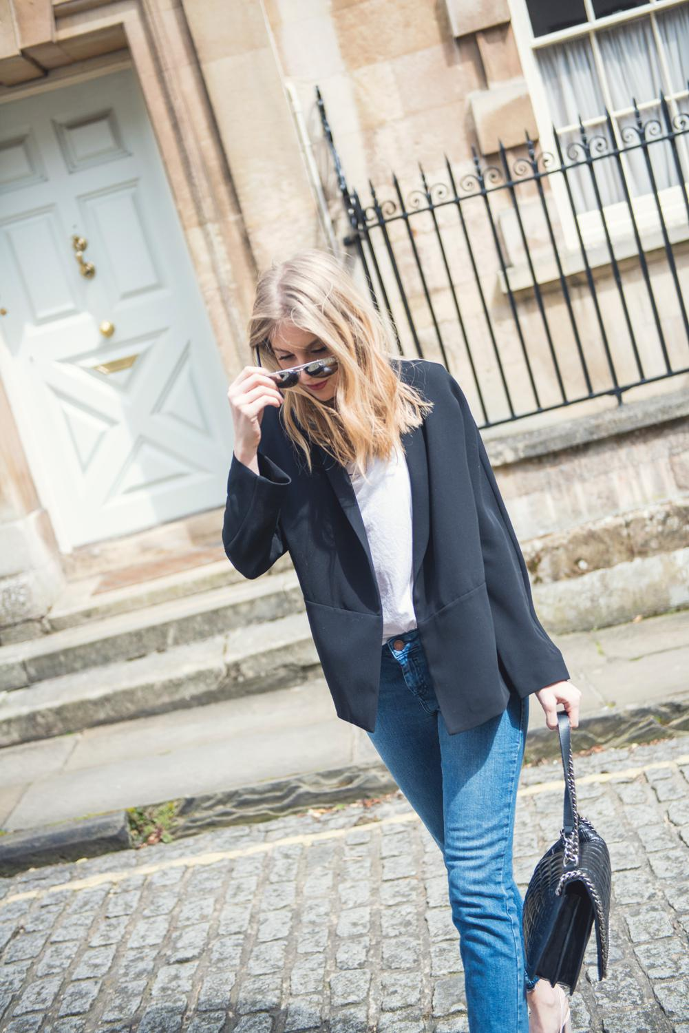 a wardrobe staple the black jacket