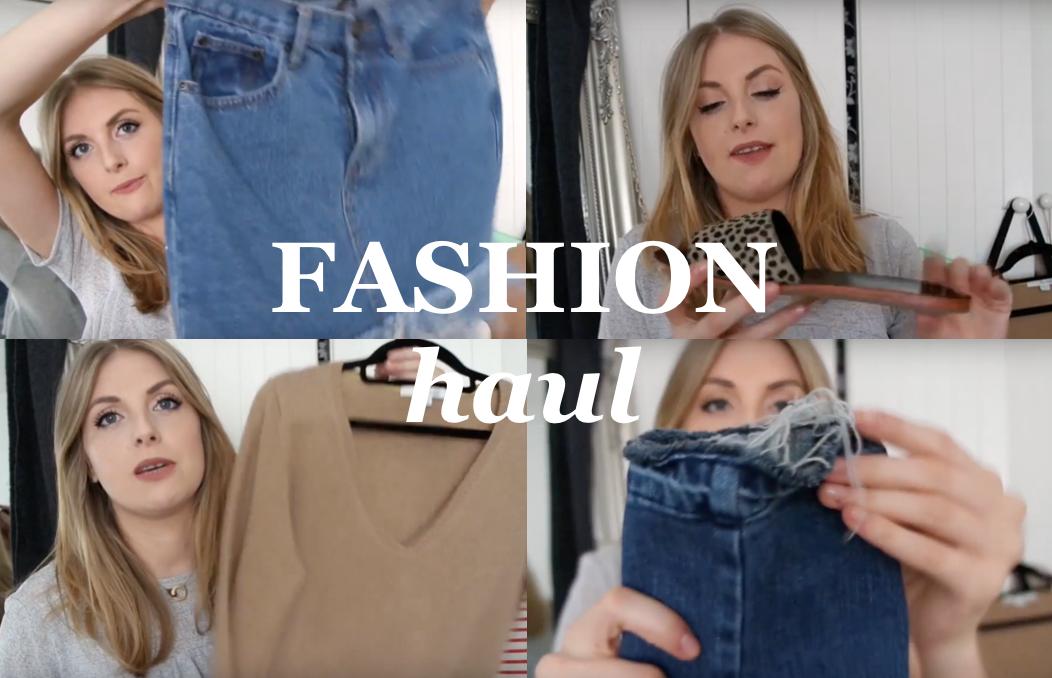 Collective Fashion Haul | Kenzo, Asos, Boden, TK MAXX, Boohoo, Levis, Zara
