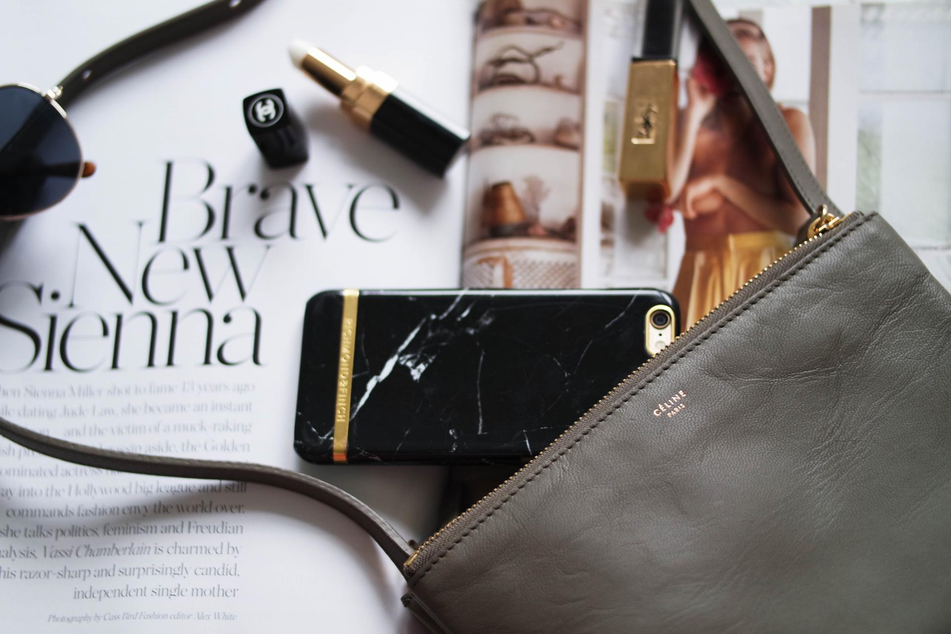 f684930bbd whats in my bag - celine trio Pin this image on Pinterest