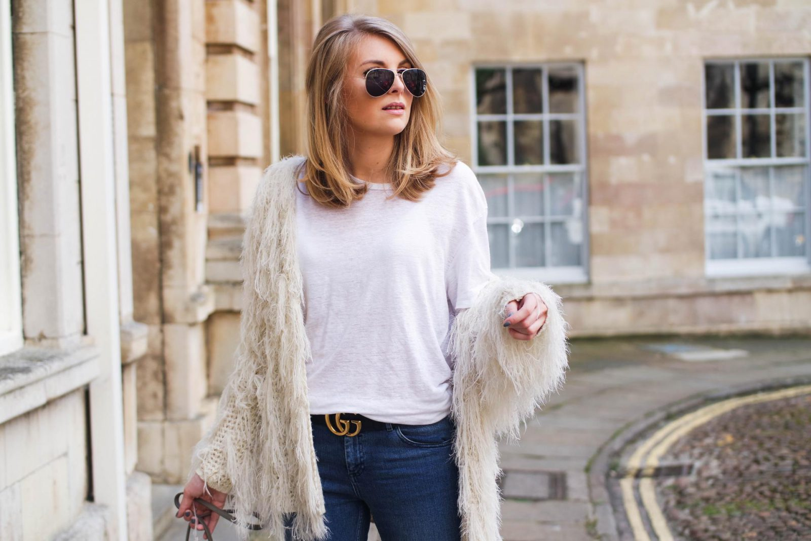 5 Statement Belts That Will Transform Your Look Shaggy Knit