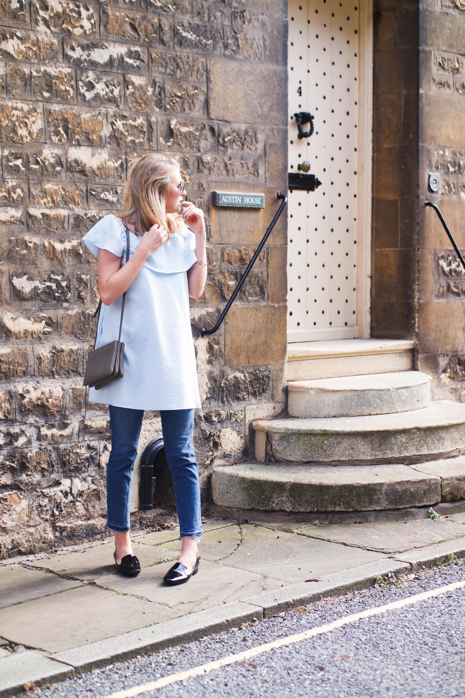 British Summer Jeans Dress