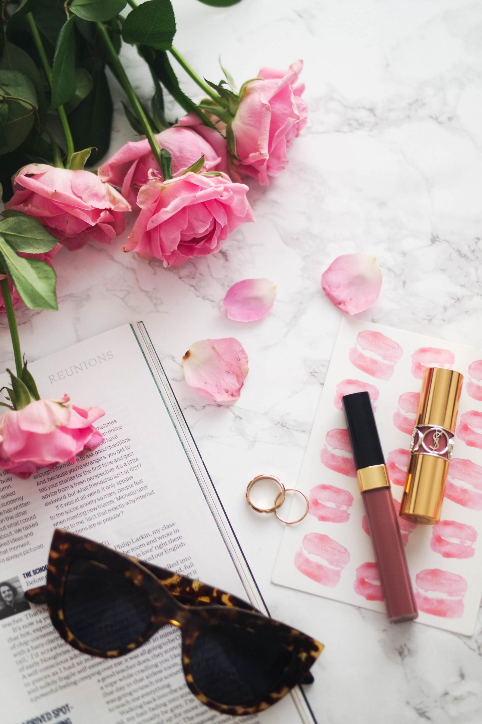 mindfulness with a friend Chanel Lipgloss