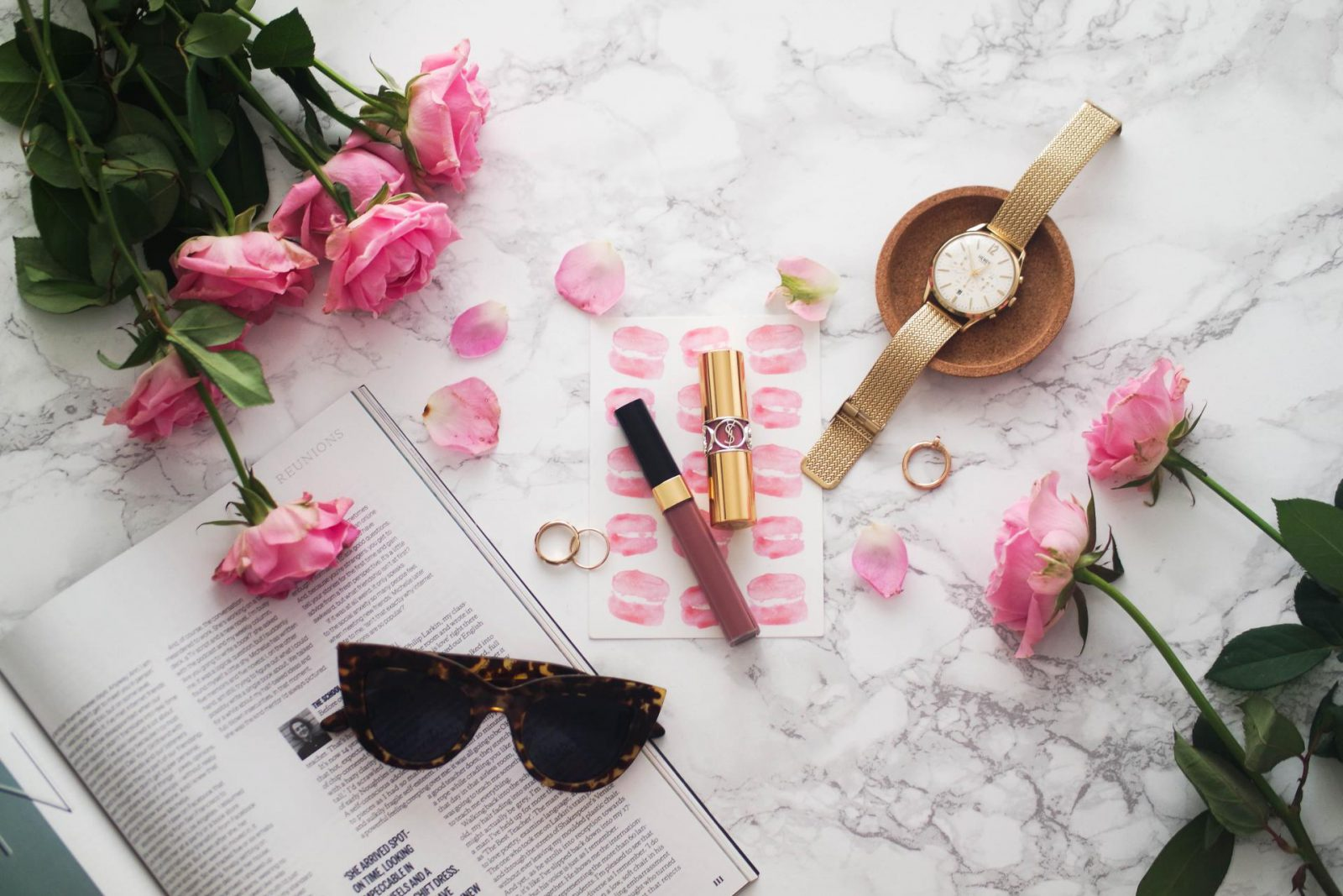 mindfulness with a friend Flatlay