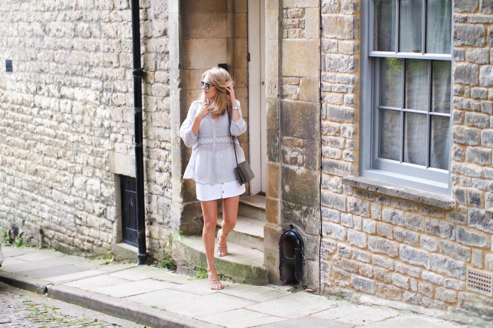 Peasant Blouse Fashion Blogger