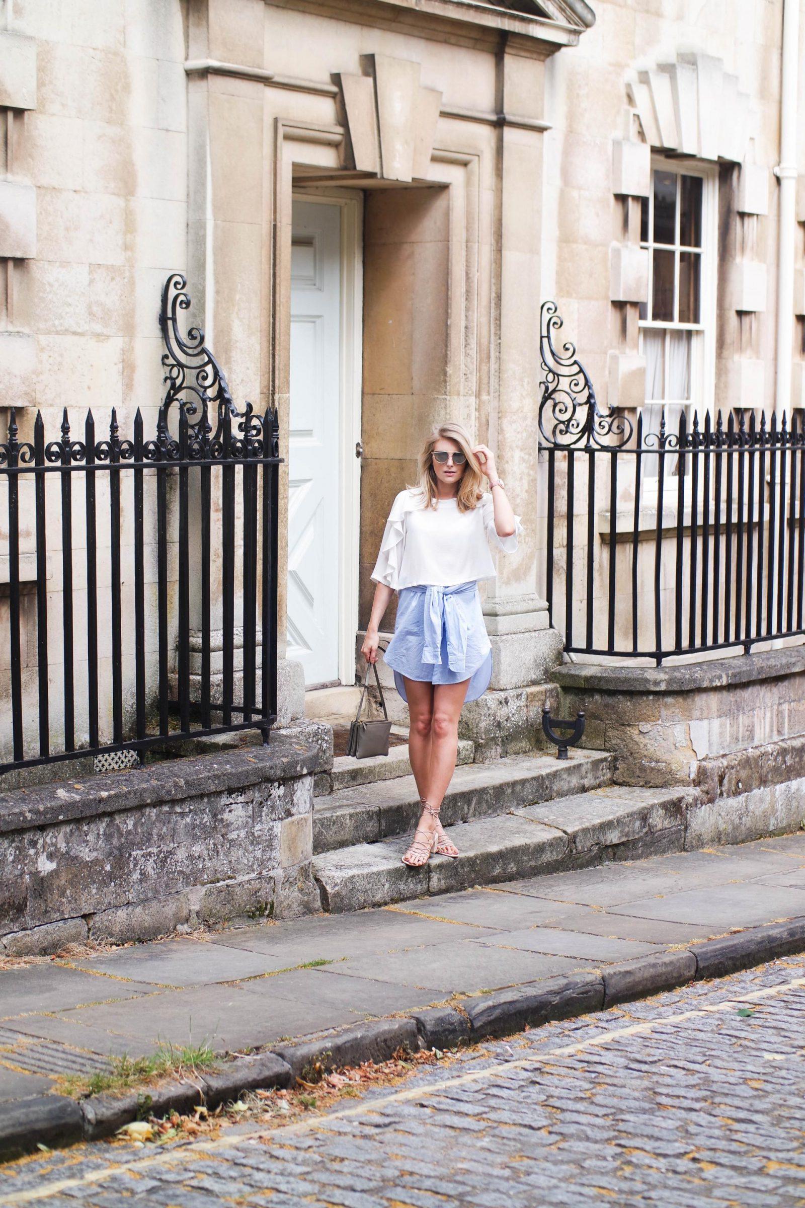 Shirt Dress Blogger Style