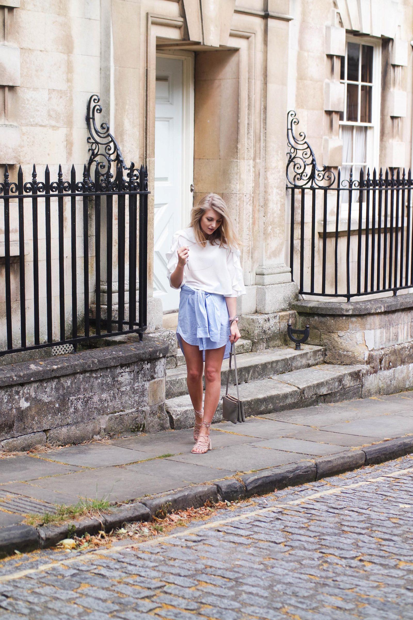 Shirt Dress Outfit Post