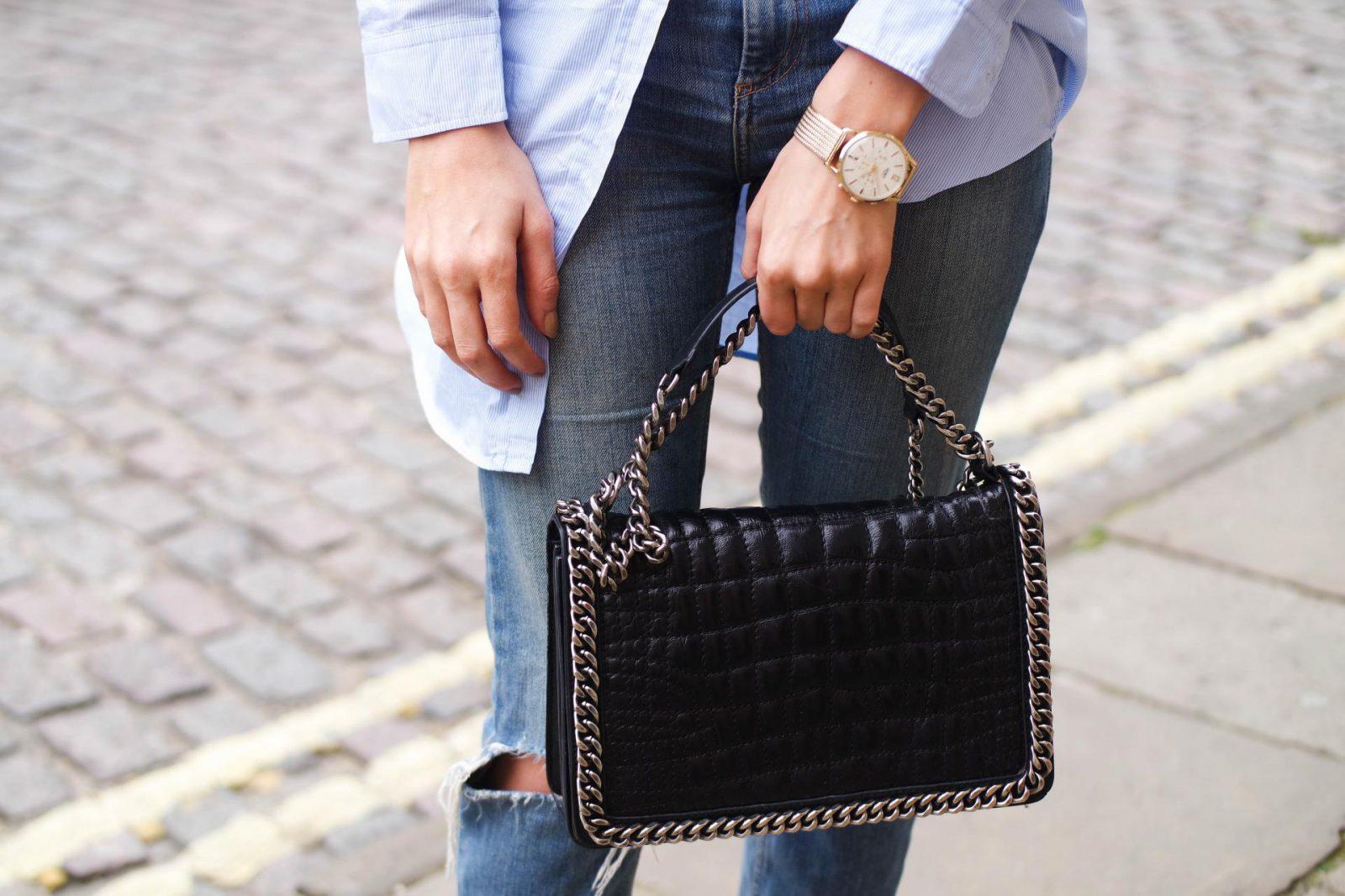 Shirt Dress Zara Bag