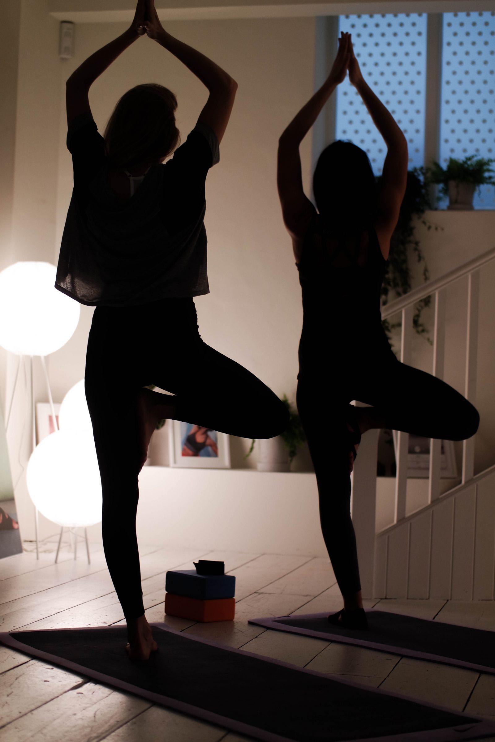 Finding My Inner Yogi With Nike - Tree Pose