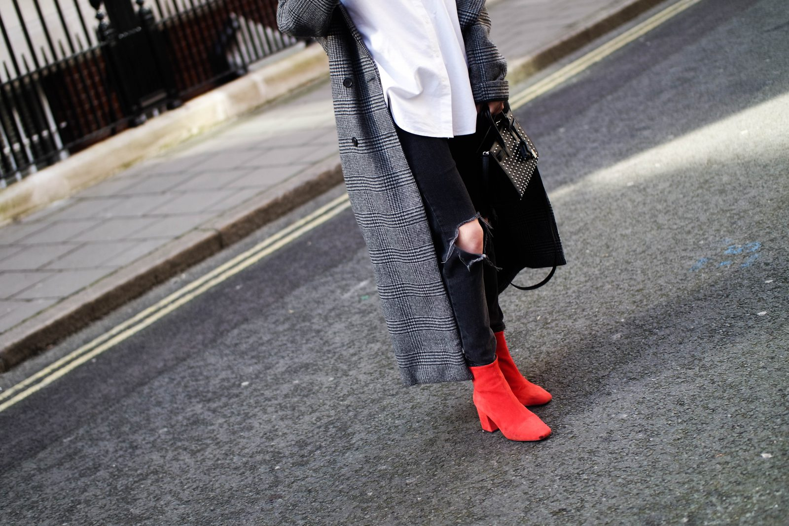 LFW Day 3 Keeping It Monochrome - Red