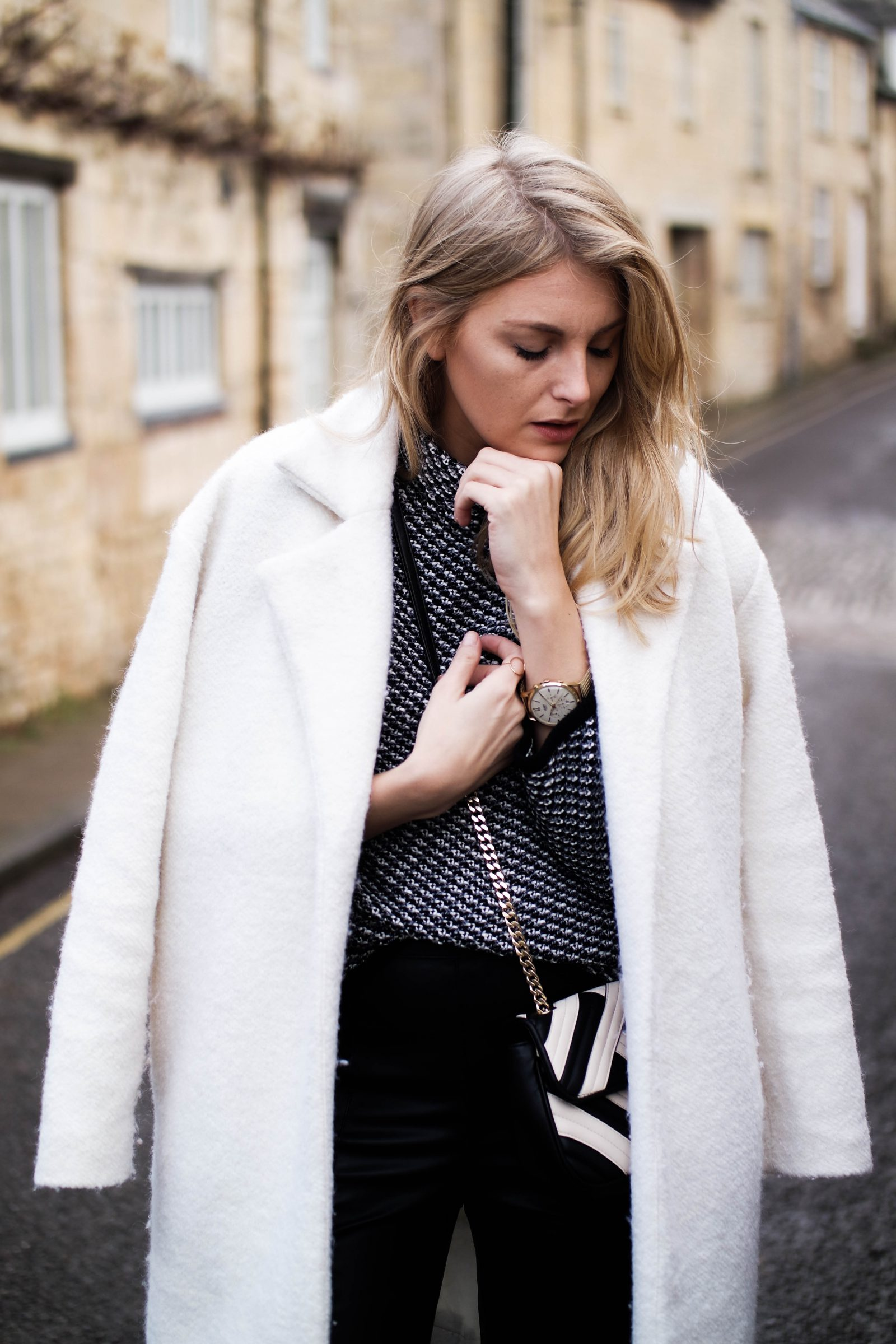 Monochrome 2 Ways With-Laura Ashley Chanel Dupe