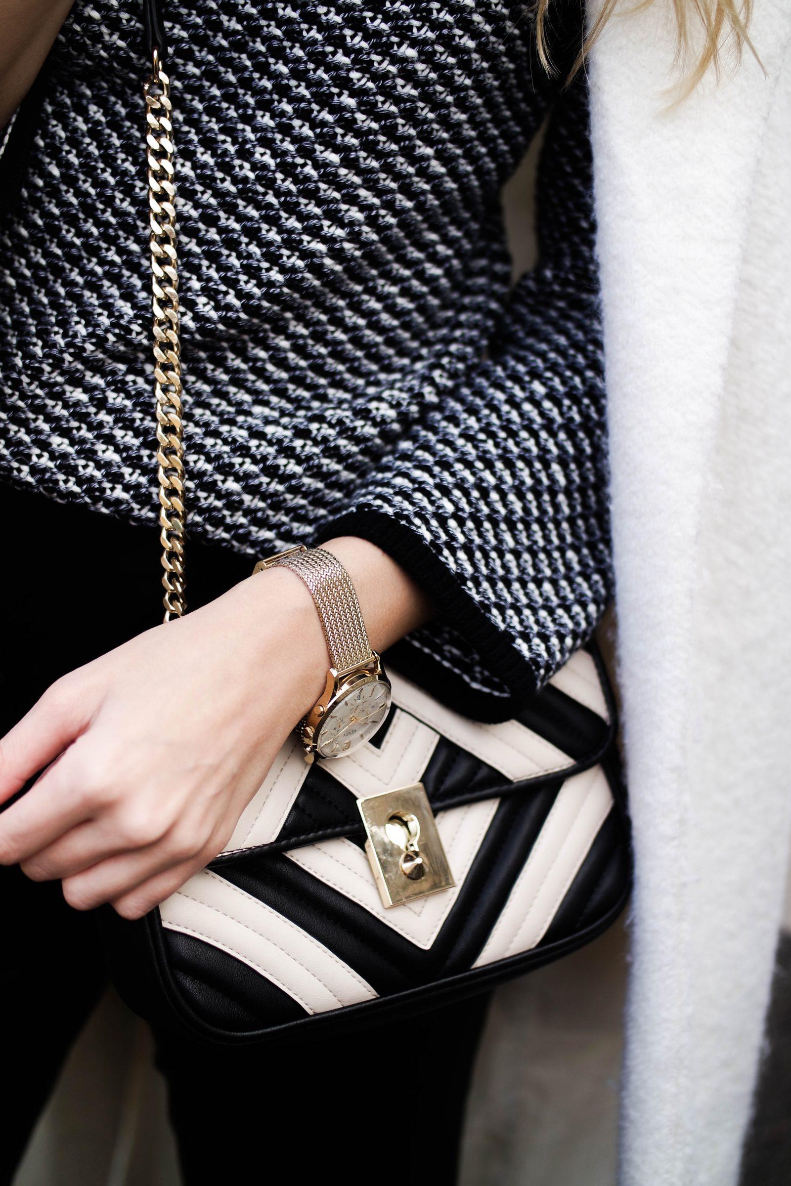 Monochrome 2 Ways With-Laura Ashley Monochrome Knit