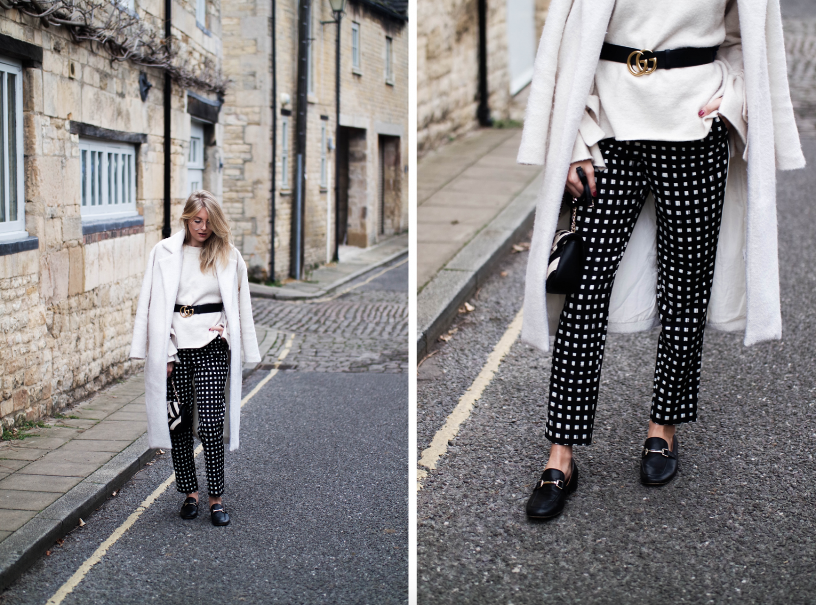 Printed Trousers Trying Something New - Fashion Blogger Styling Tips