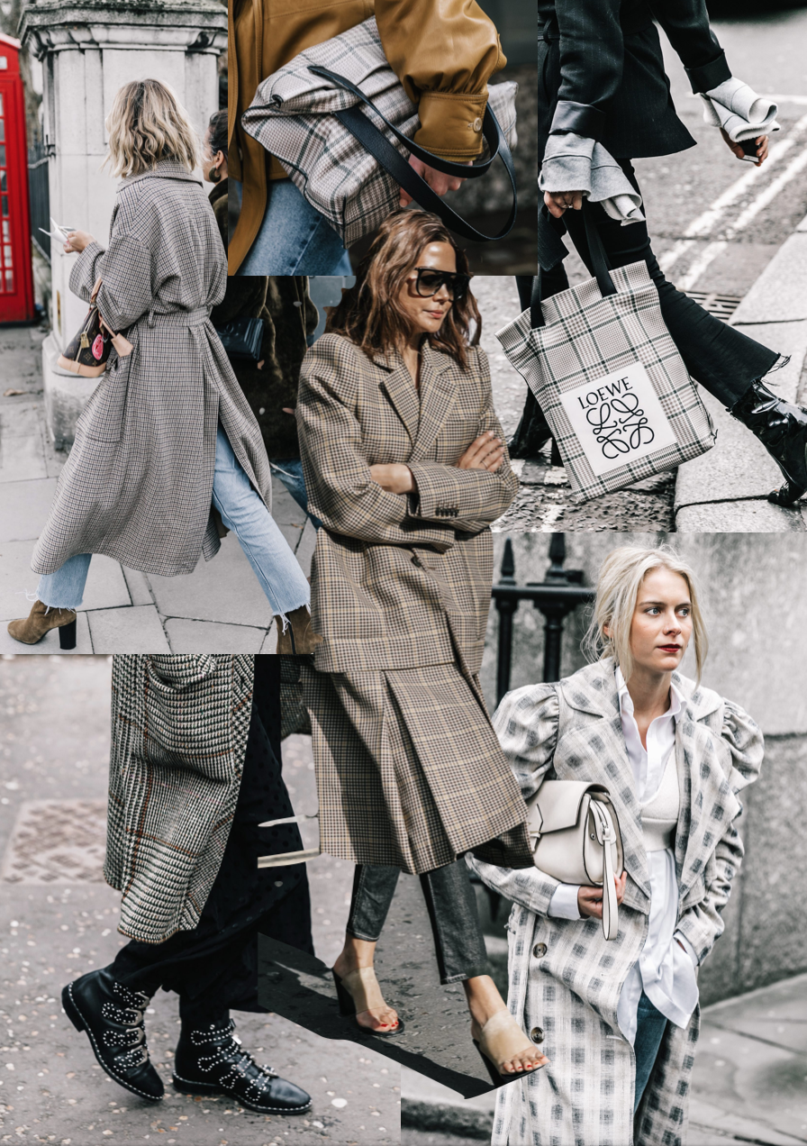 LFW Trend - Prince of Wales Check